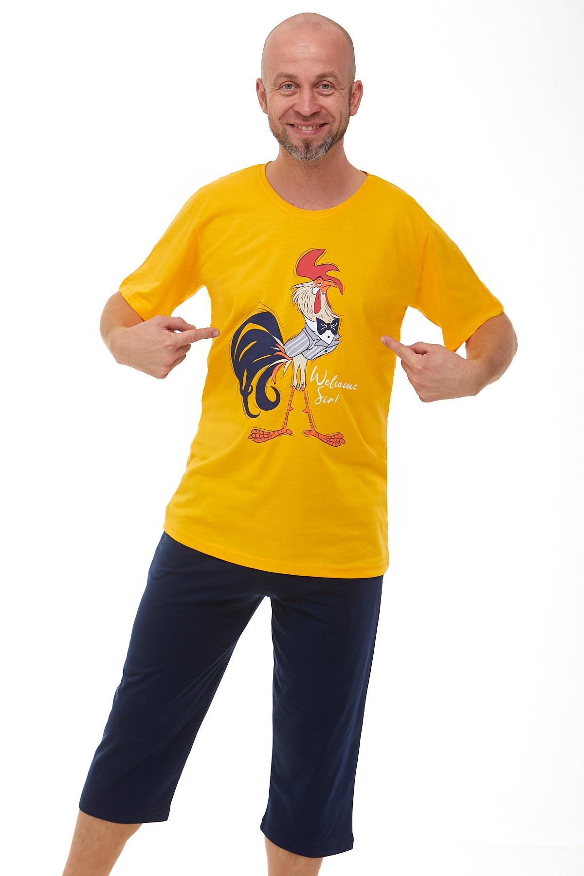 Pánské pyžamo kohout 1P0937