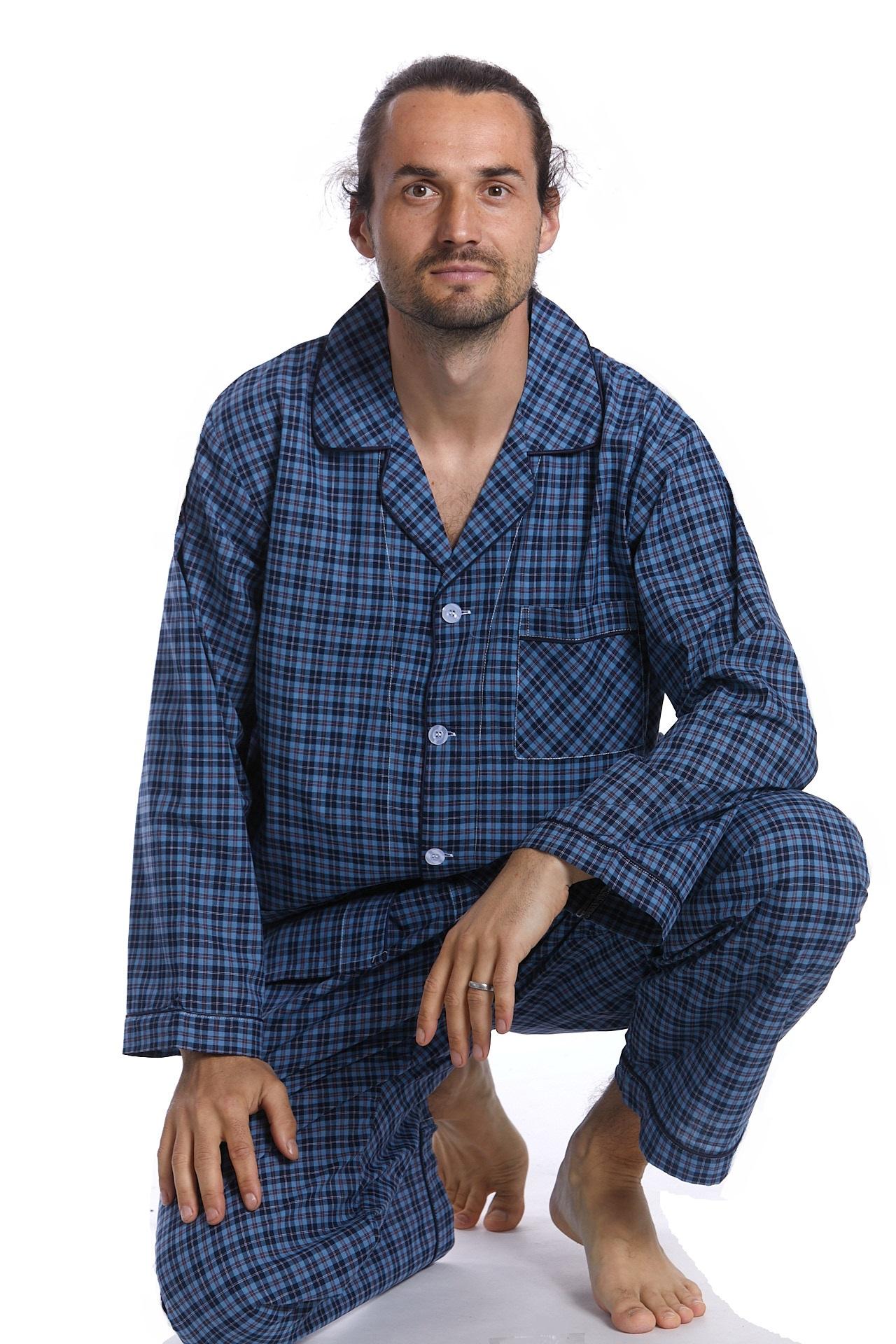 Pánské pyžamo klasické 1P0984