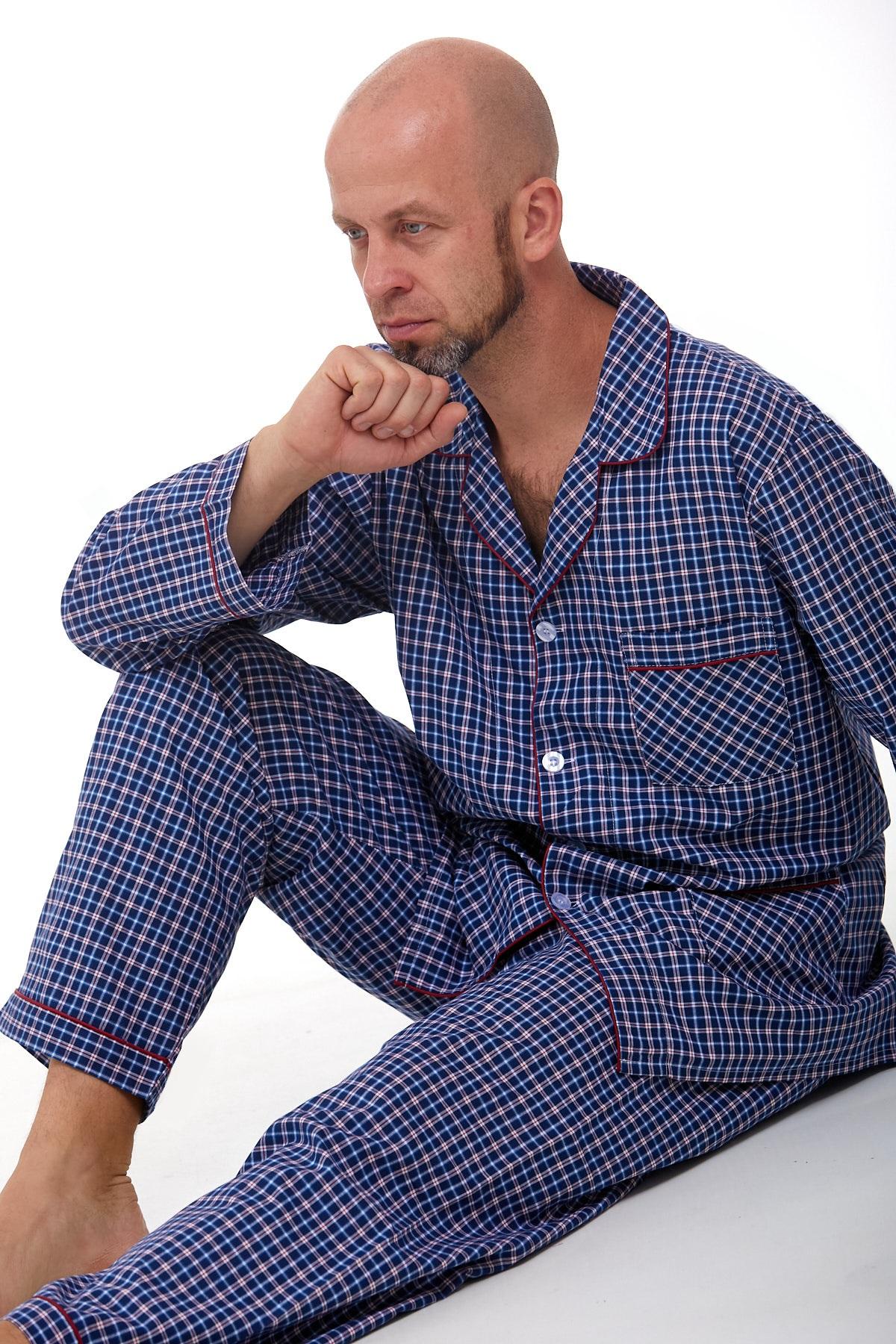Pánské pyžamo klasické 1P0980