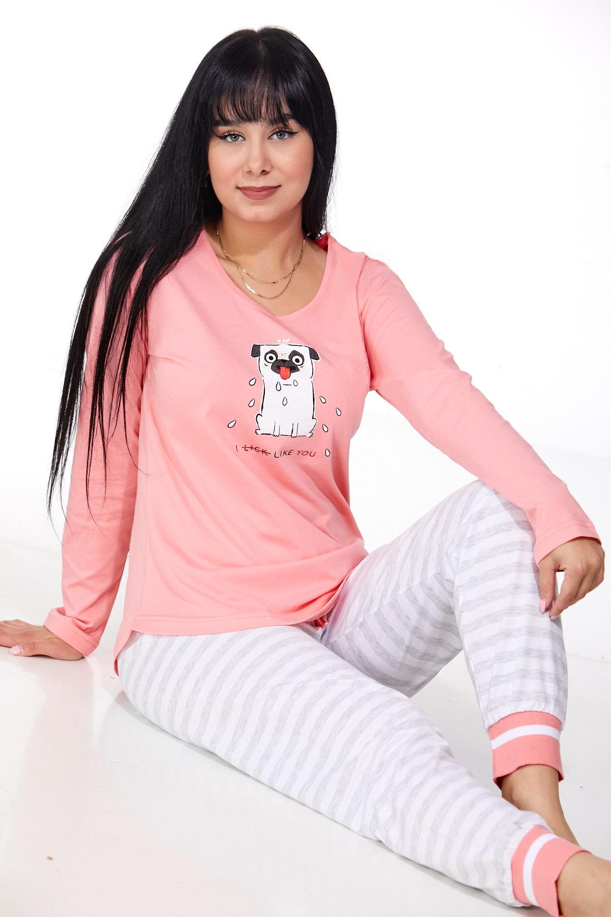 Dámské pyžamo comfort 1B0969