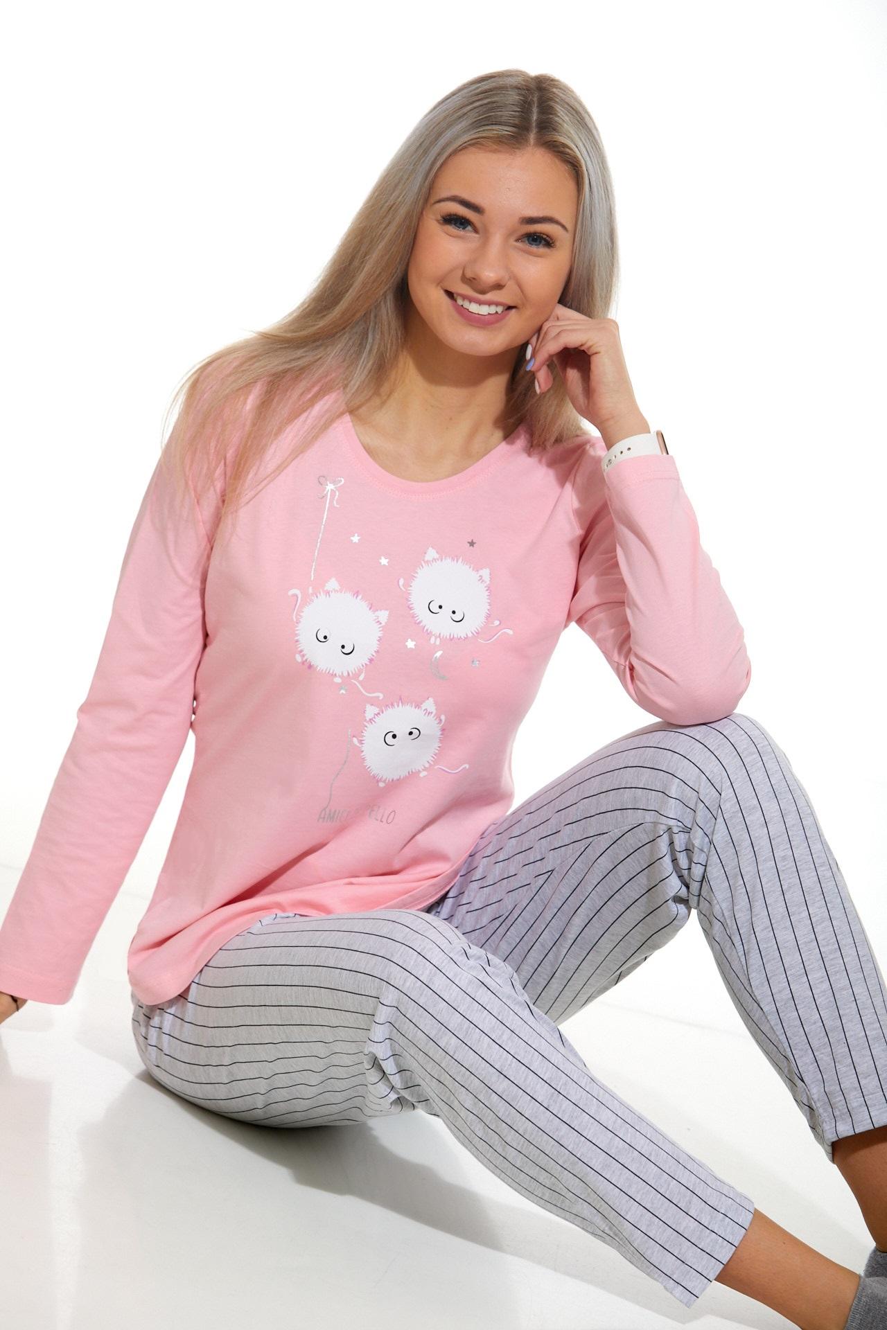 Dámské pyžamo roztomilé 1B0948