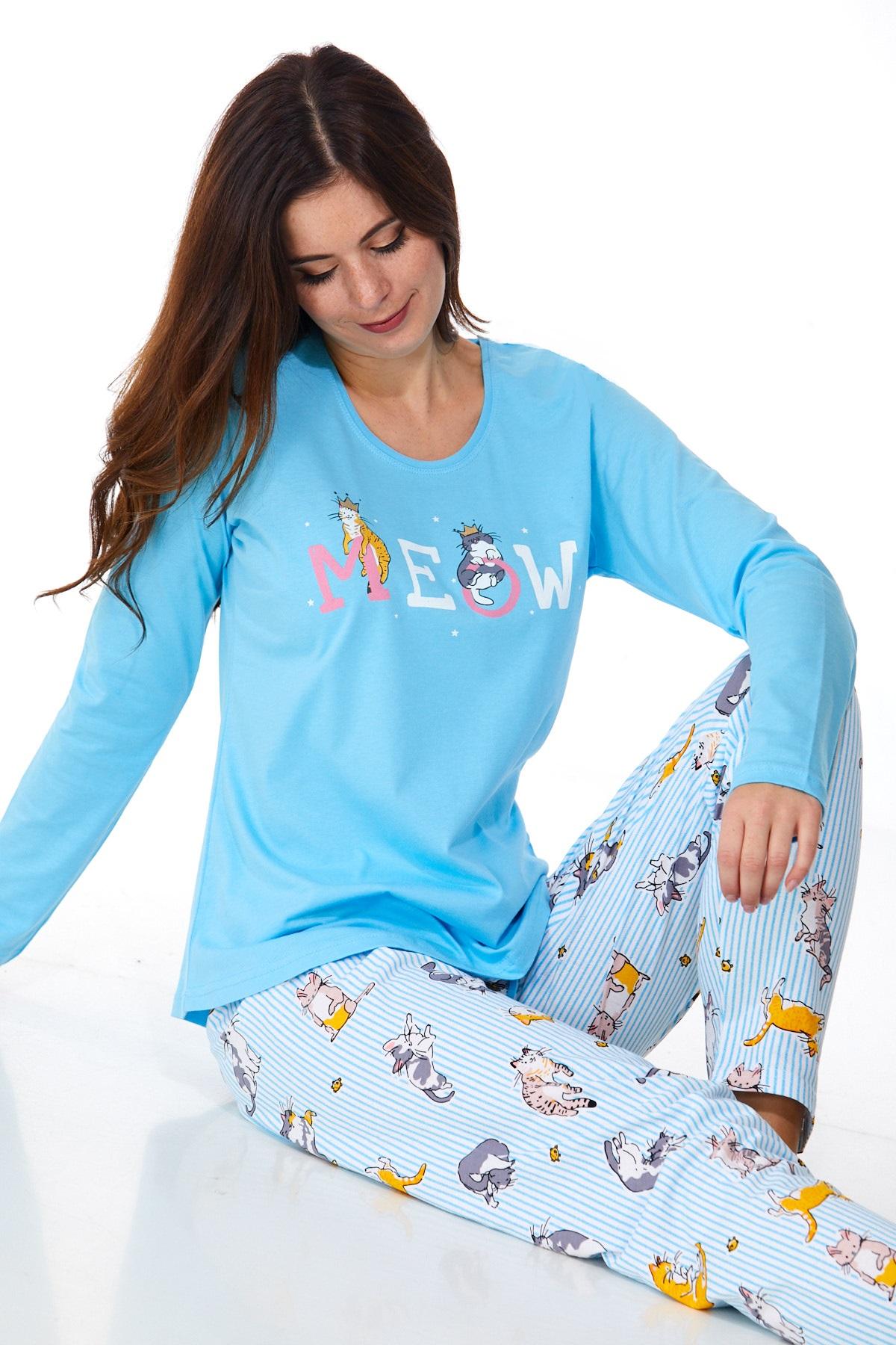 Dámské pyžamo comfort 1B0939