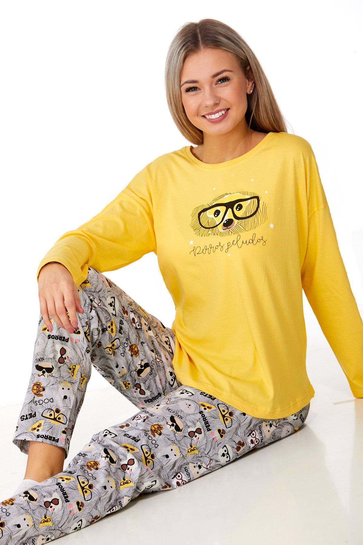Dámské pyžamo comfort 1B0938