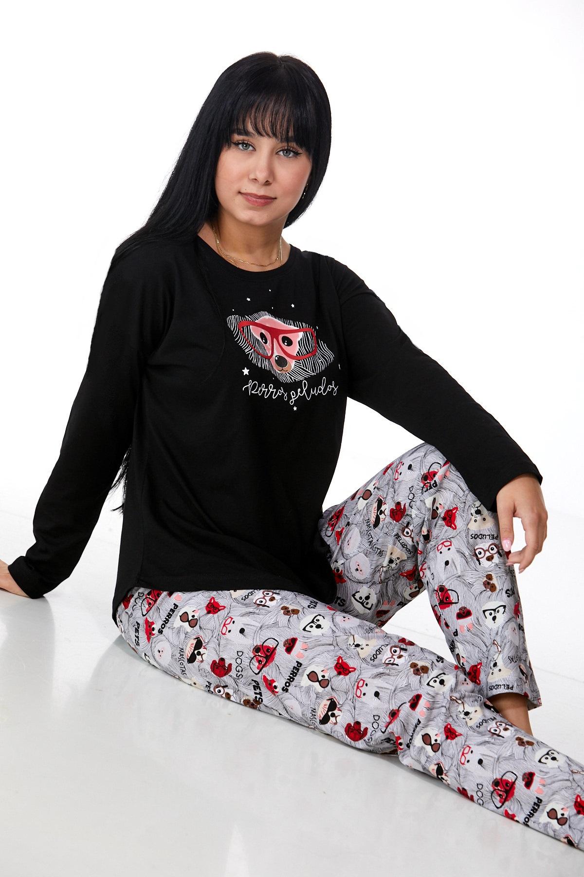 Dámské pyžamo comfort 1B0933