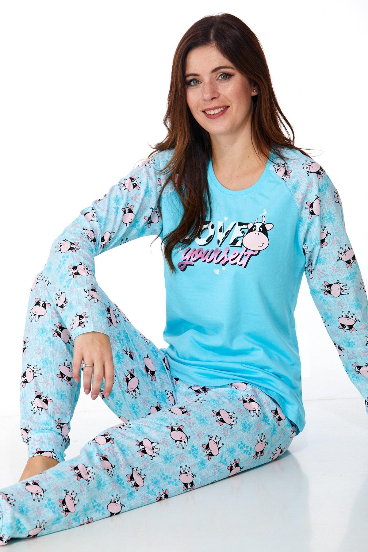 Dámské pyžamo comfort 1B0926