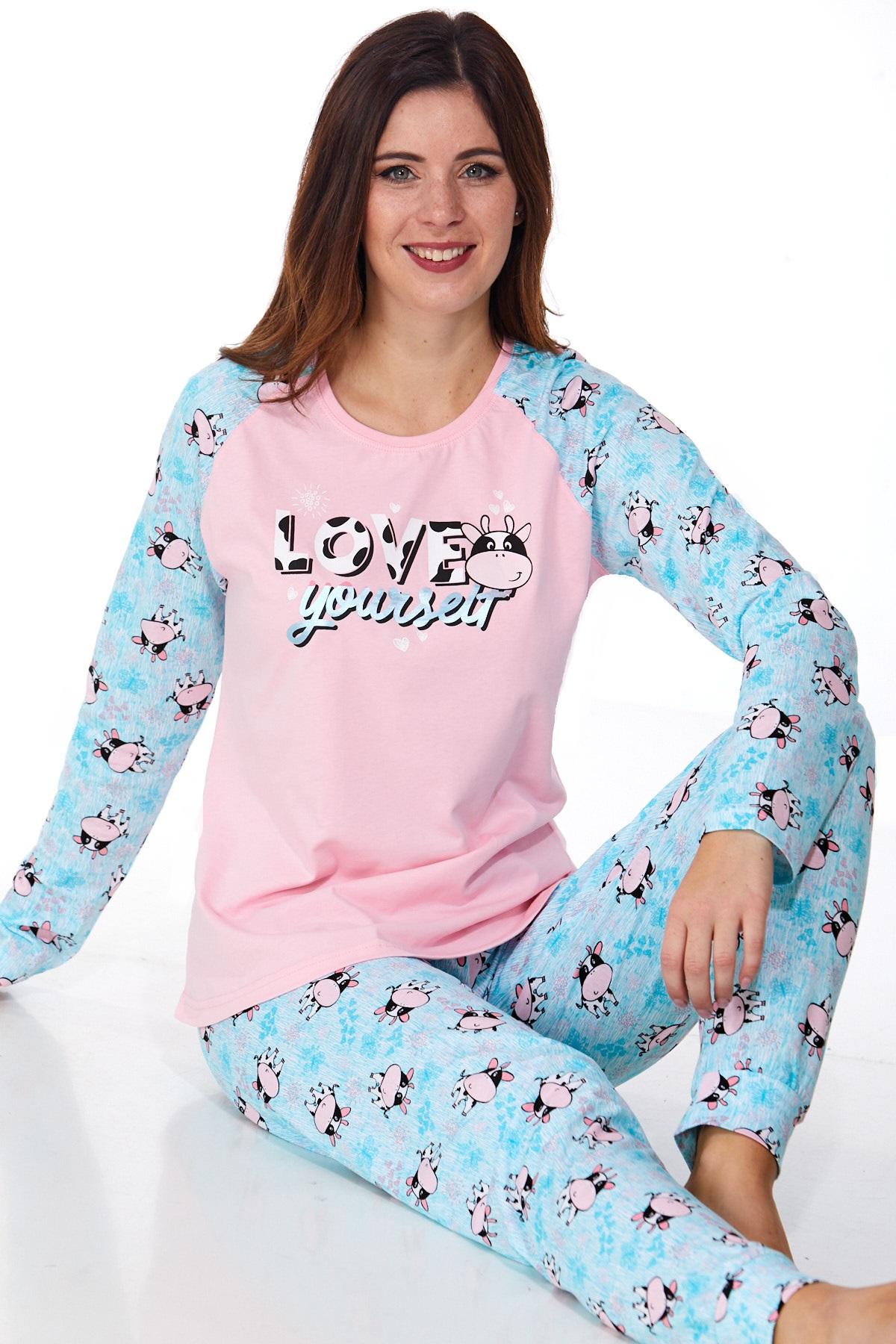 Dámské pyžamo comfort 1B0925