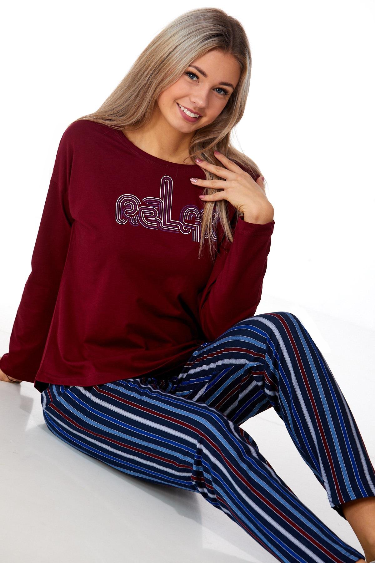 Dámské pyžamo comfort 1B0918