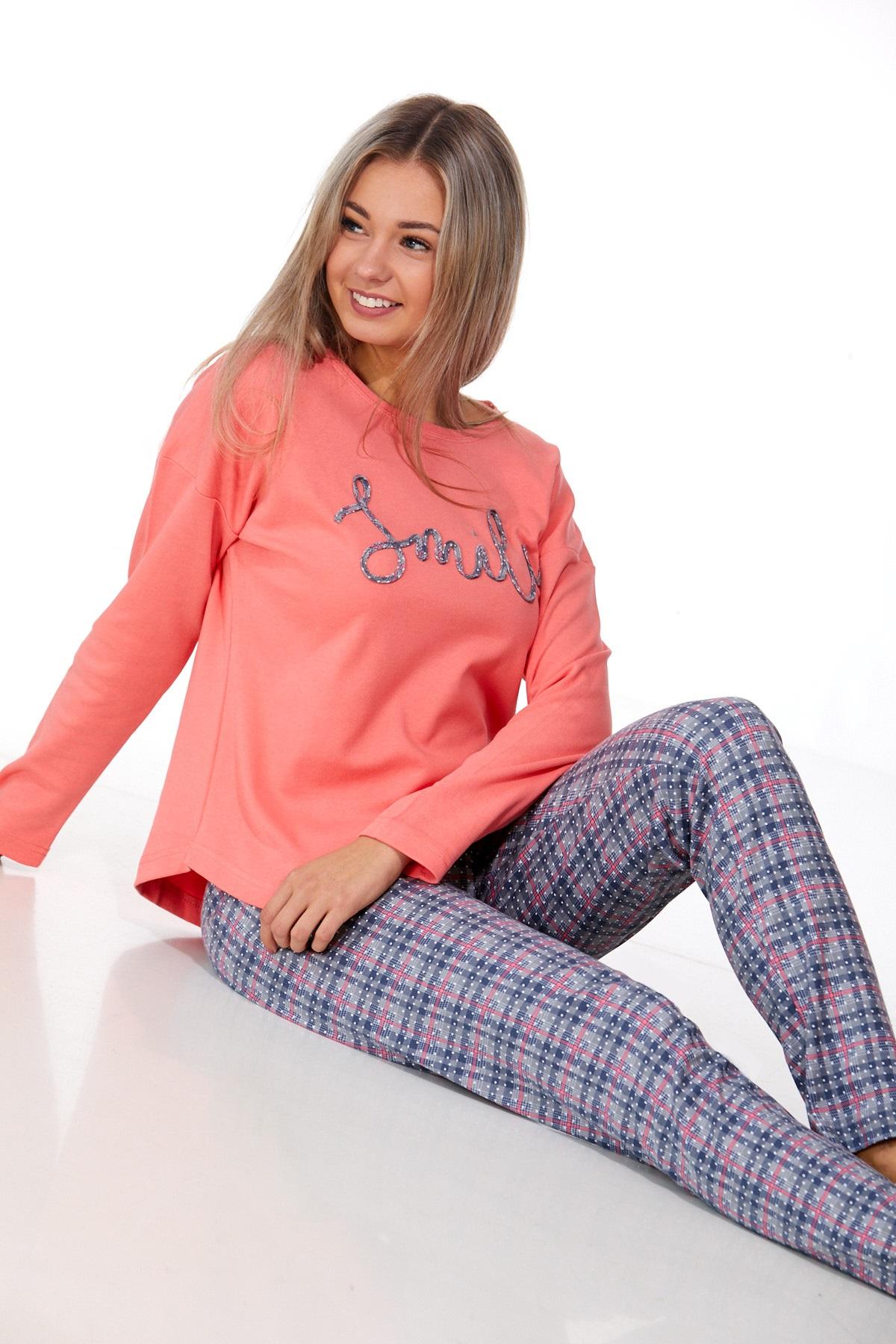 Dámské pyžamo comfort teplé 1B0983