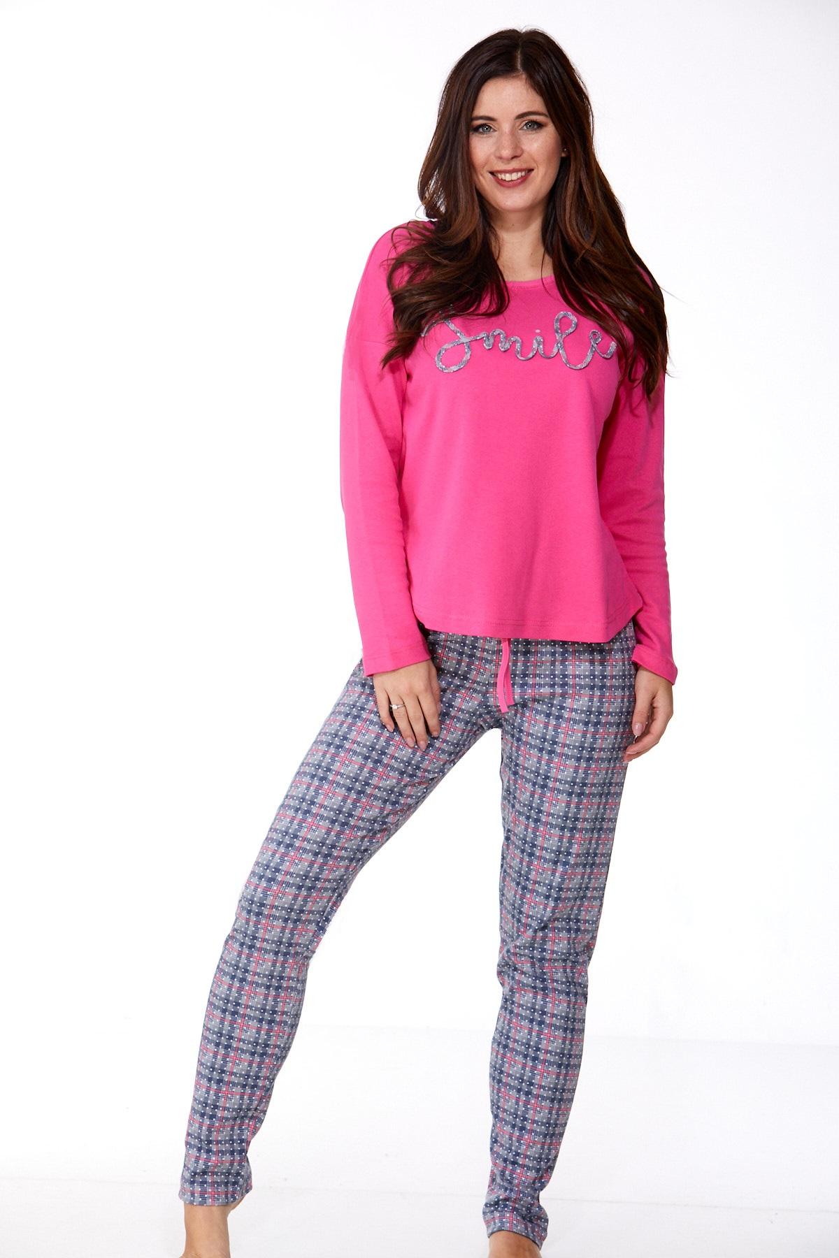 Dámské pyžamo comfort teplé 1B0979