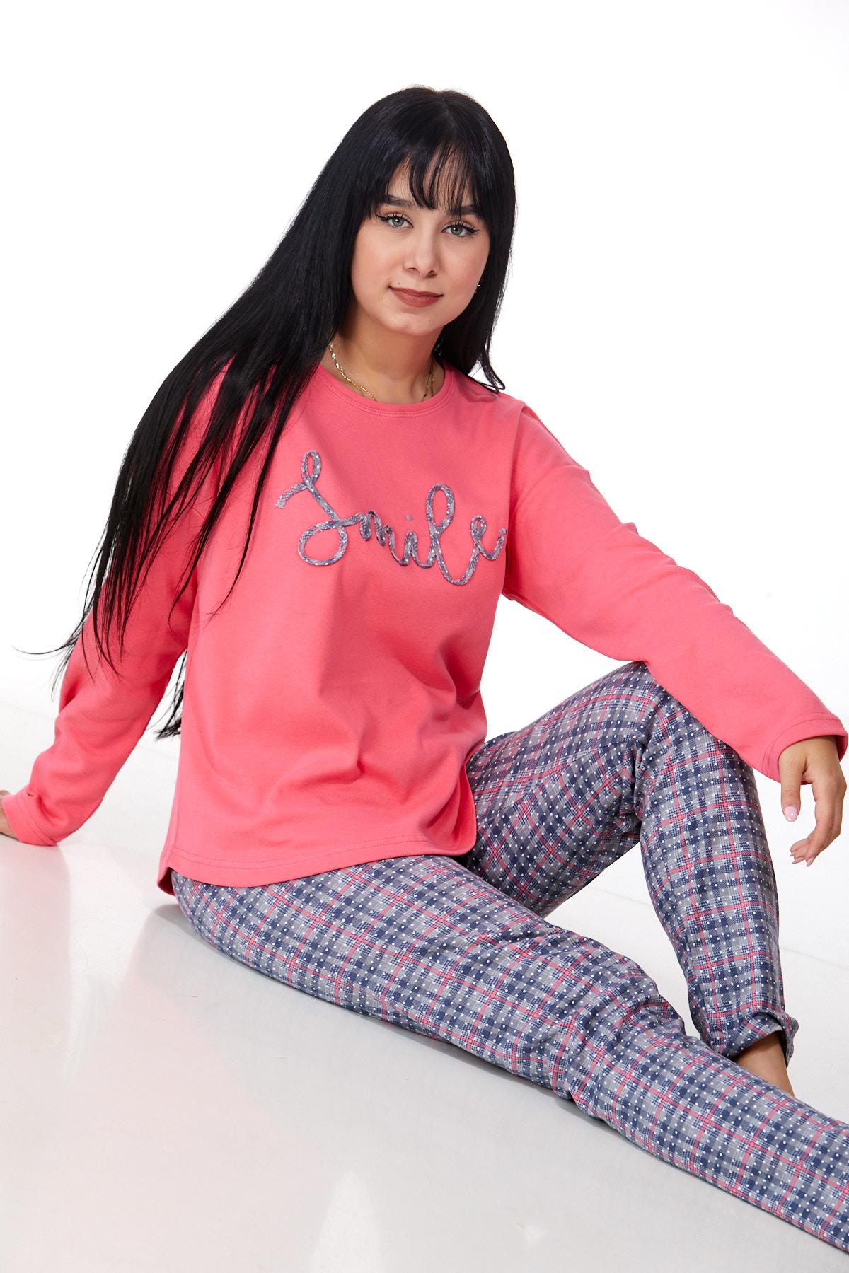 Dámské pyžamo comfort teplé 1B0978