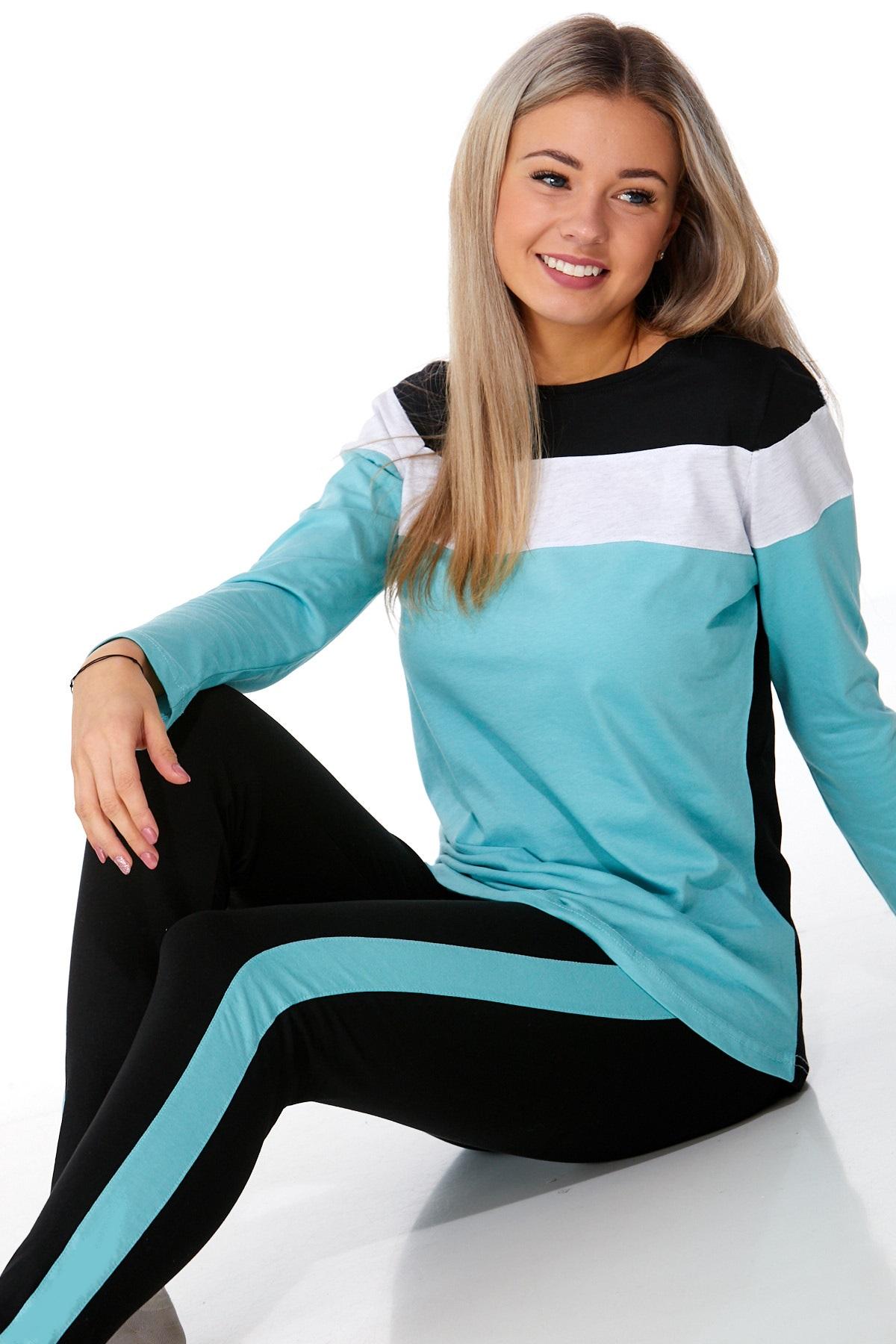 Dámské pyžamo comfort legins 1B0975