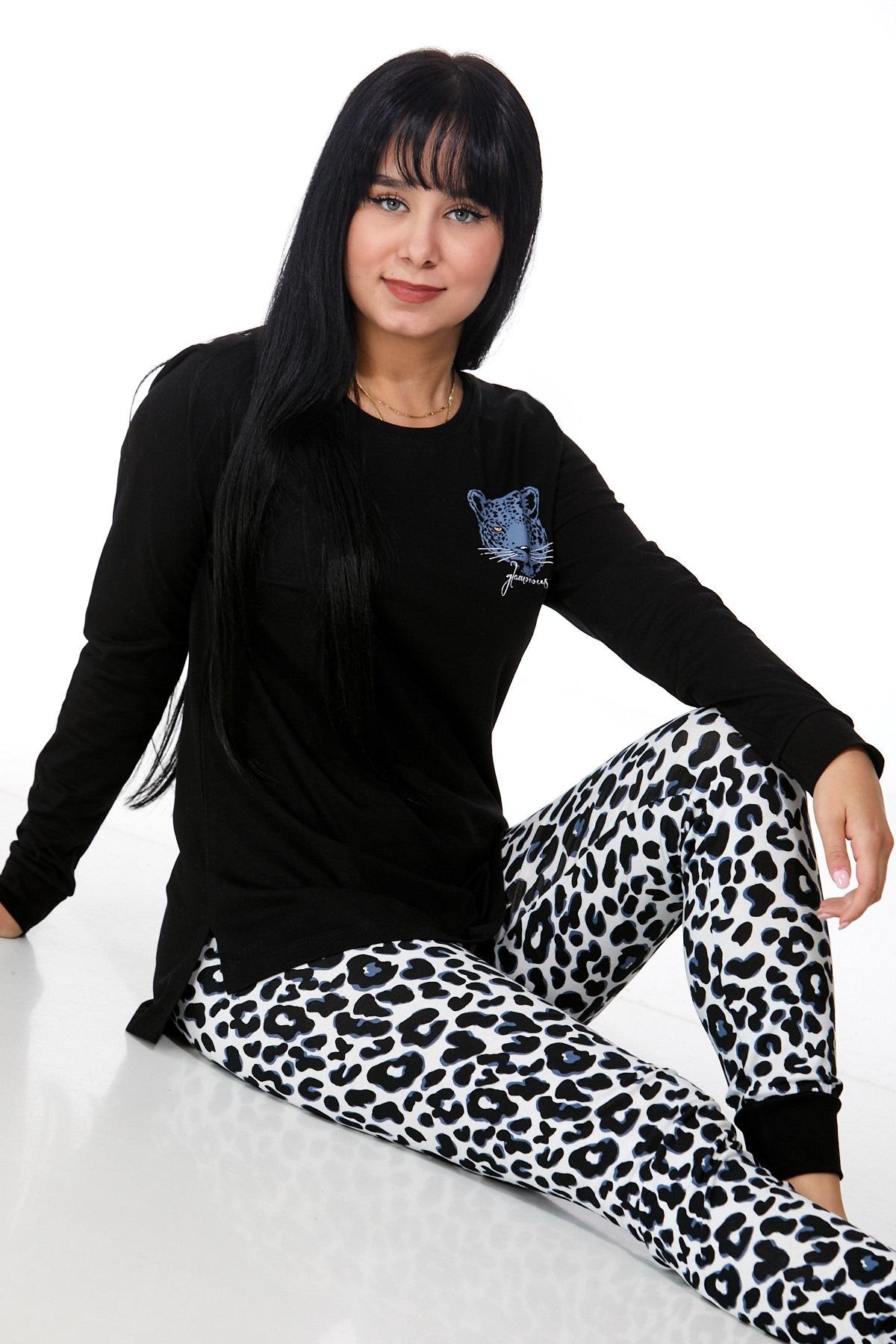 Dámské pyžamo comfort legins 1B0930
