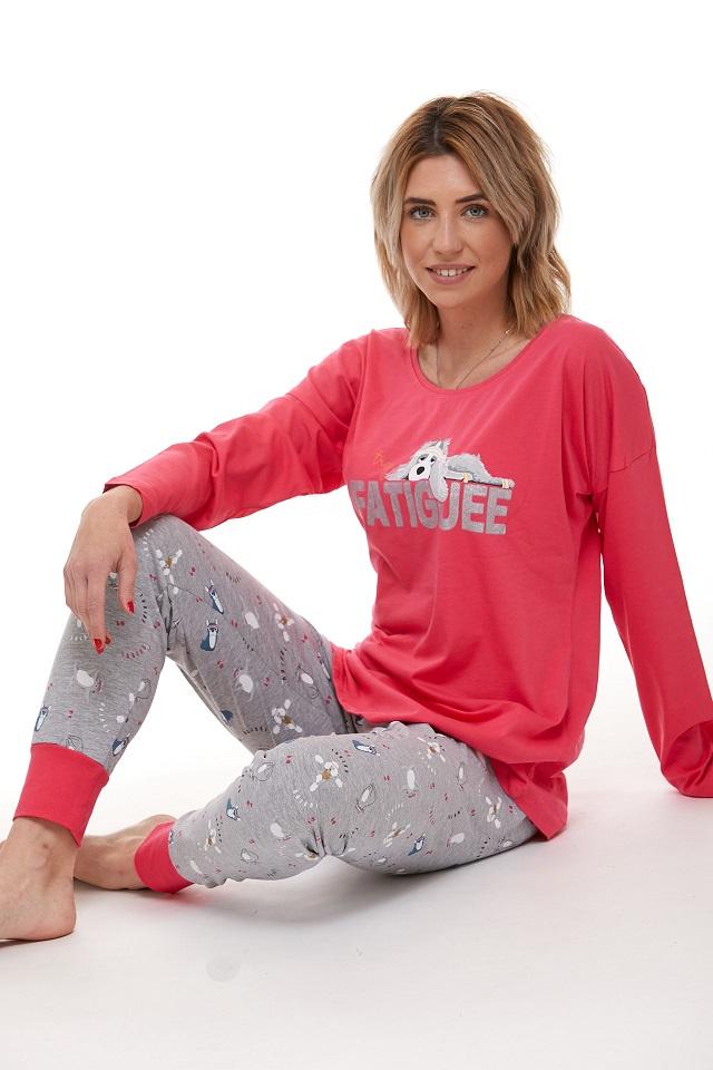 Dámské pyžamo comfort legins 1B0960