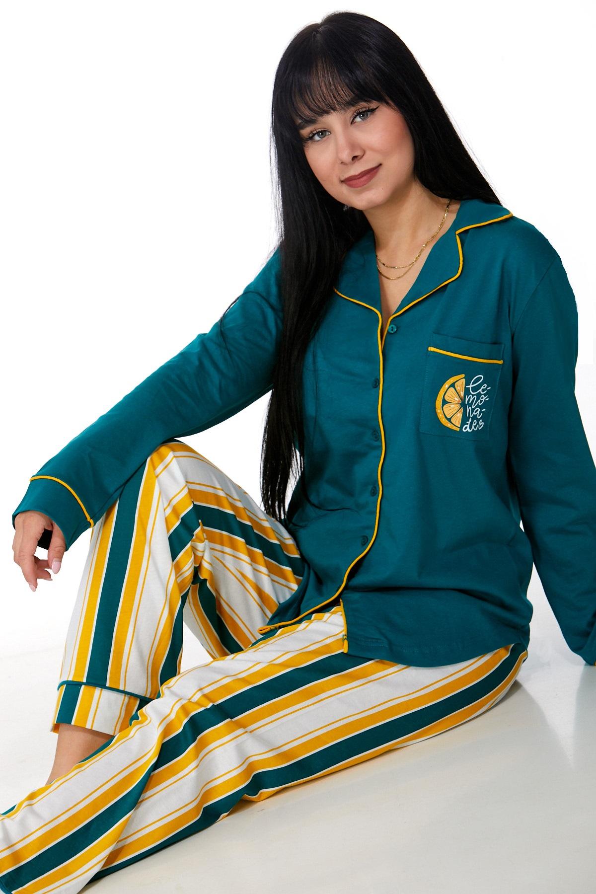 Elegantní pyžamo pro ženy 1B0923