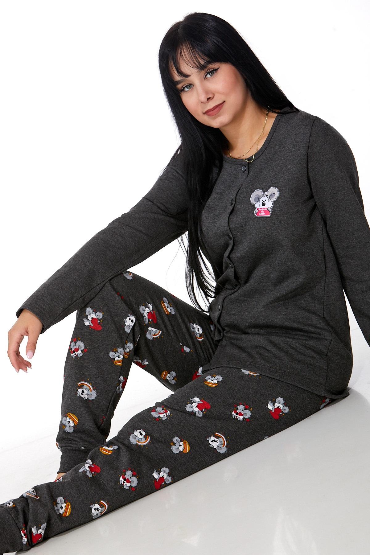 Zateplené pyžamo pro ženy 1B1004