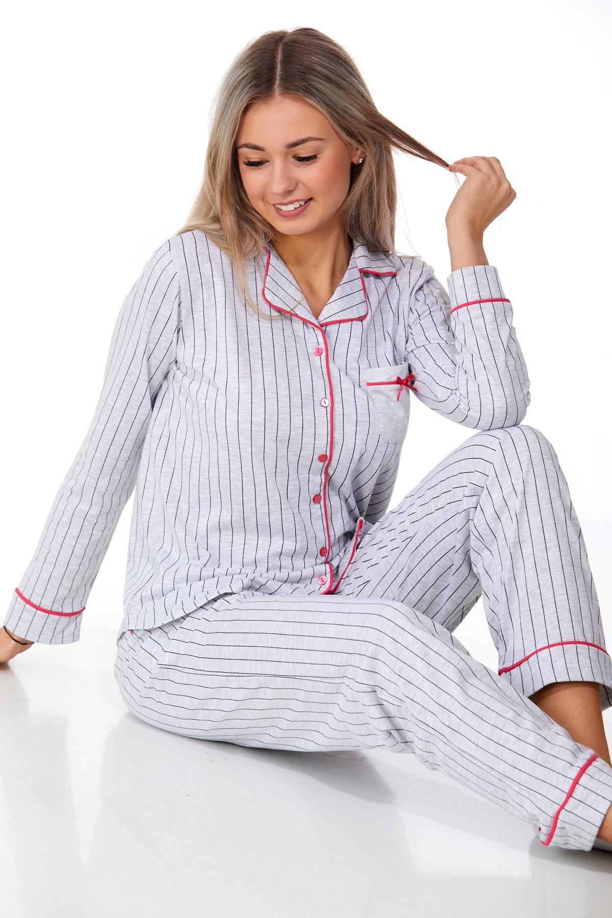 Luxusní pyžamo na kojení 1B0924