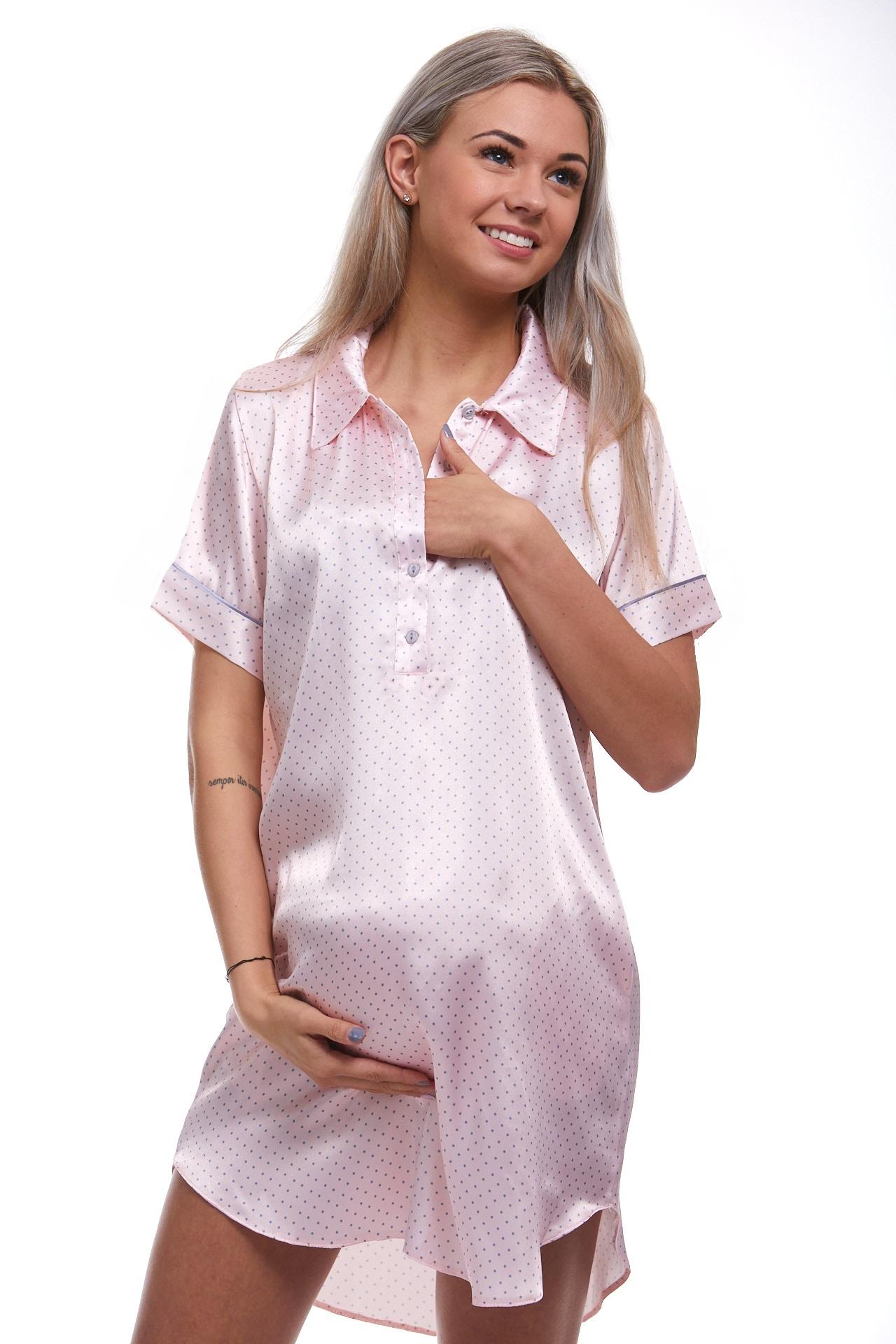 Luxusní kojící košilka 1E8279
