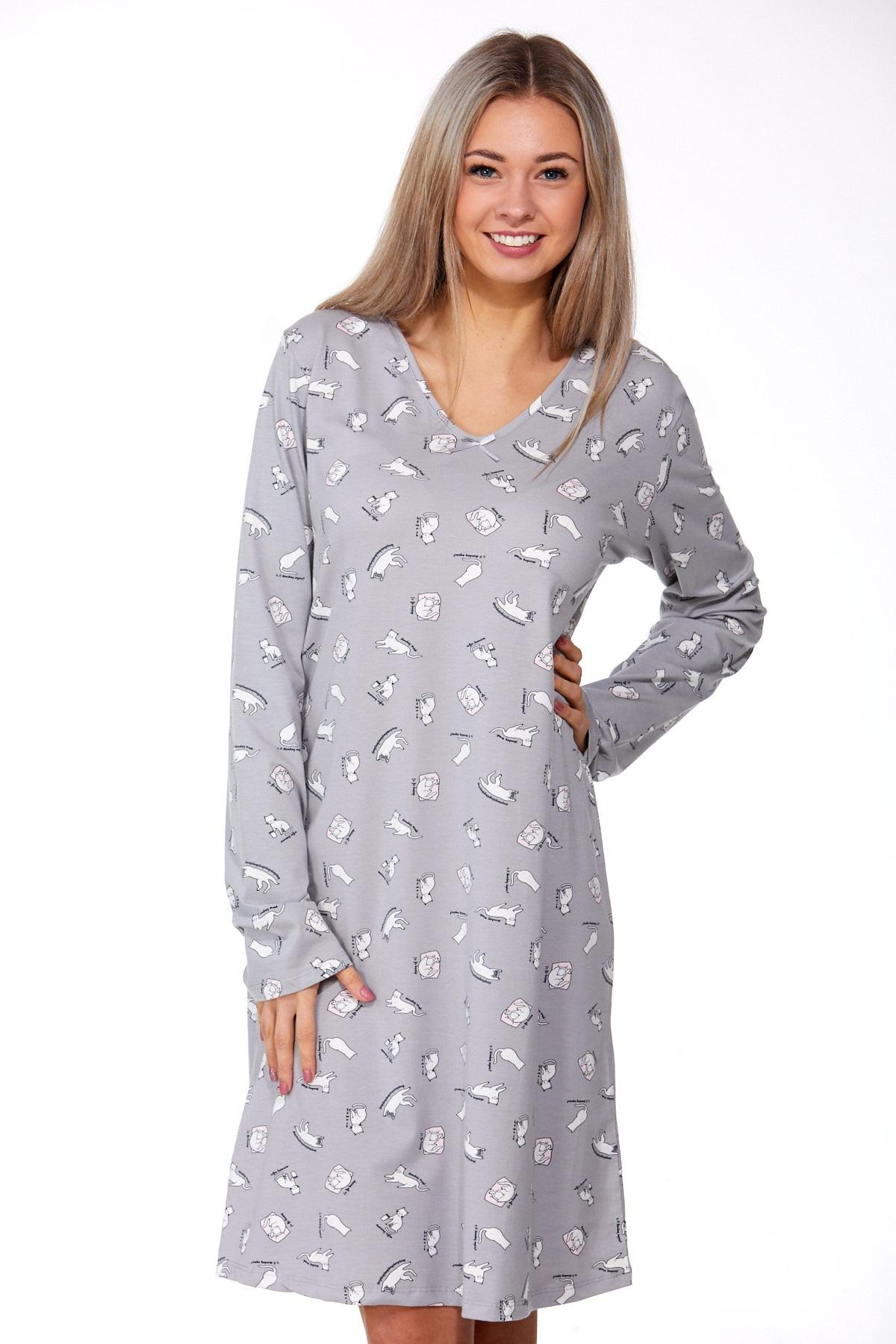 Noční košilka pro těhotné Kočičky 1D0834