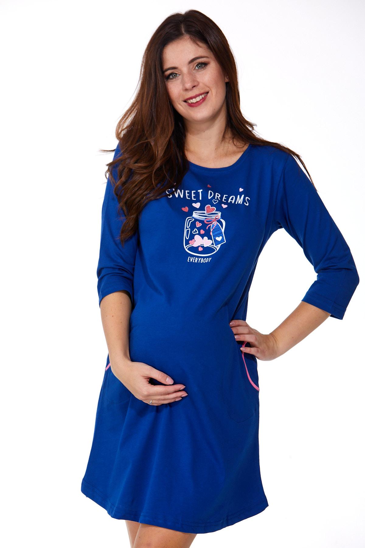 Noční košilka pro těhotné 1C2281