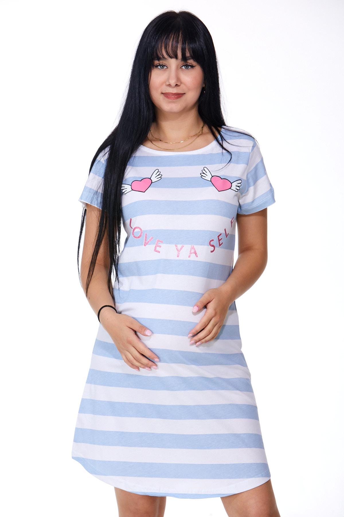 Noční košilka pro těhotné 1C2278