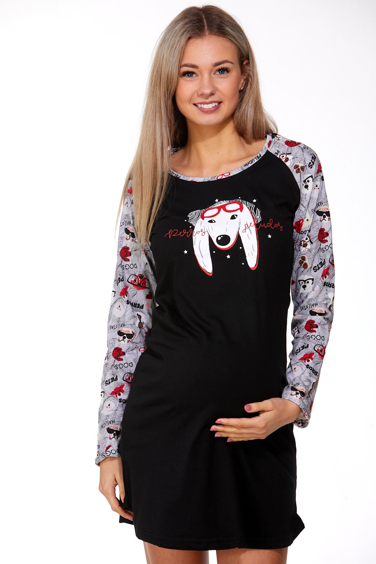 Noční košilka pro těhotné 1C2275