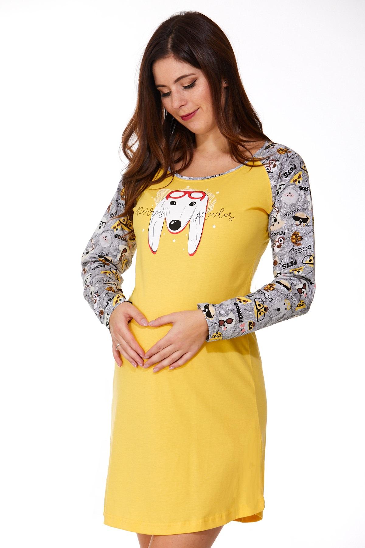 Noční košilka pro těhotné 1C2274