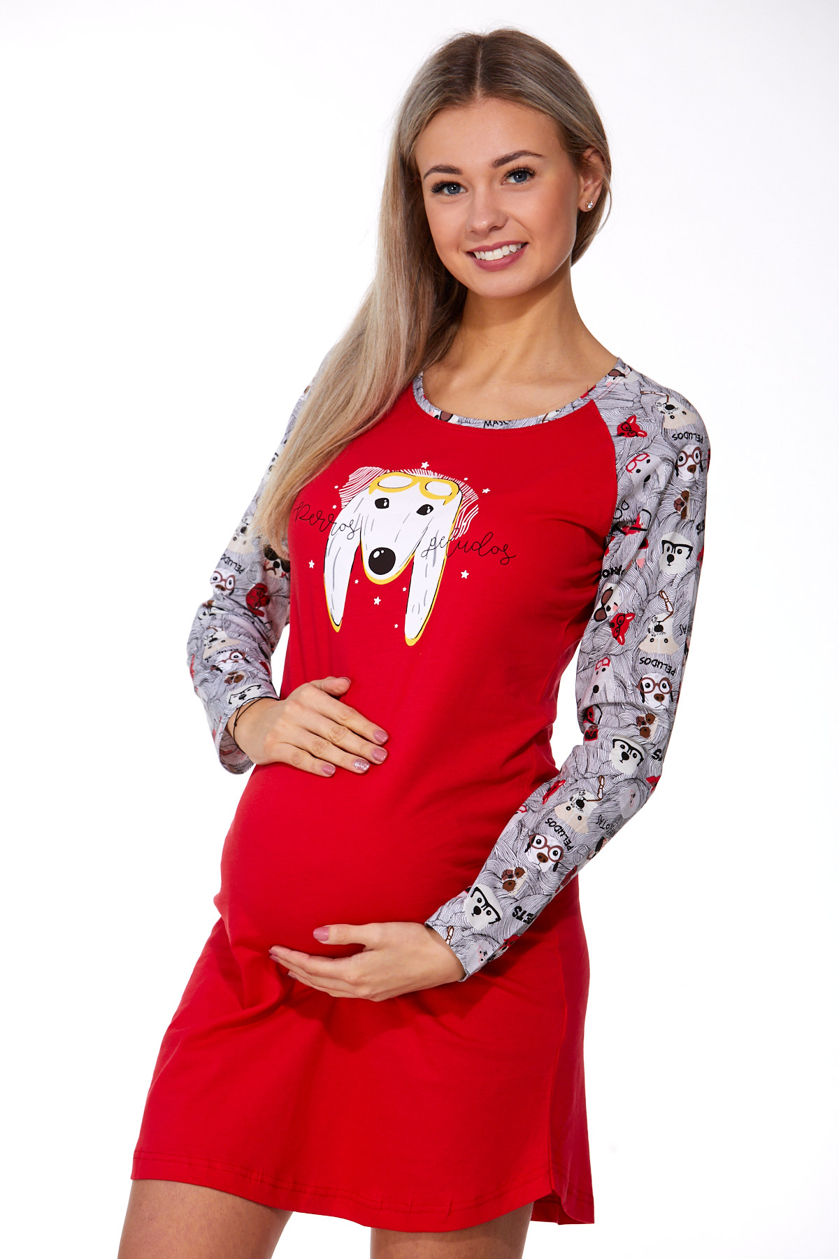 Noční košilka pro těhotné 1C2273