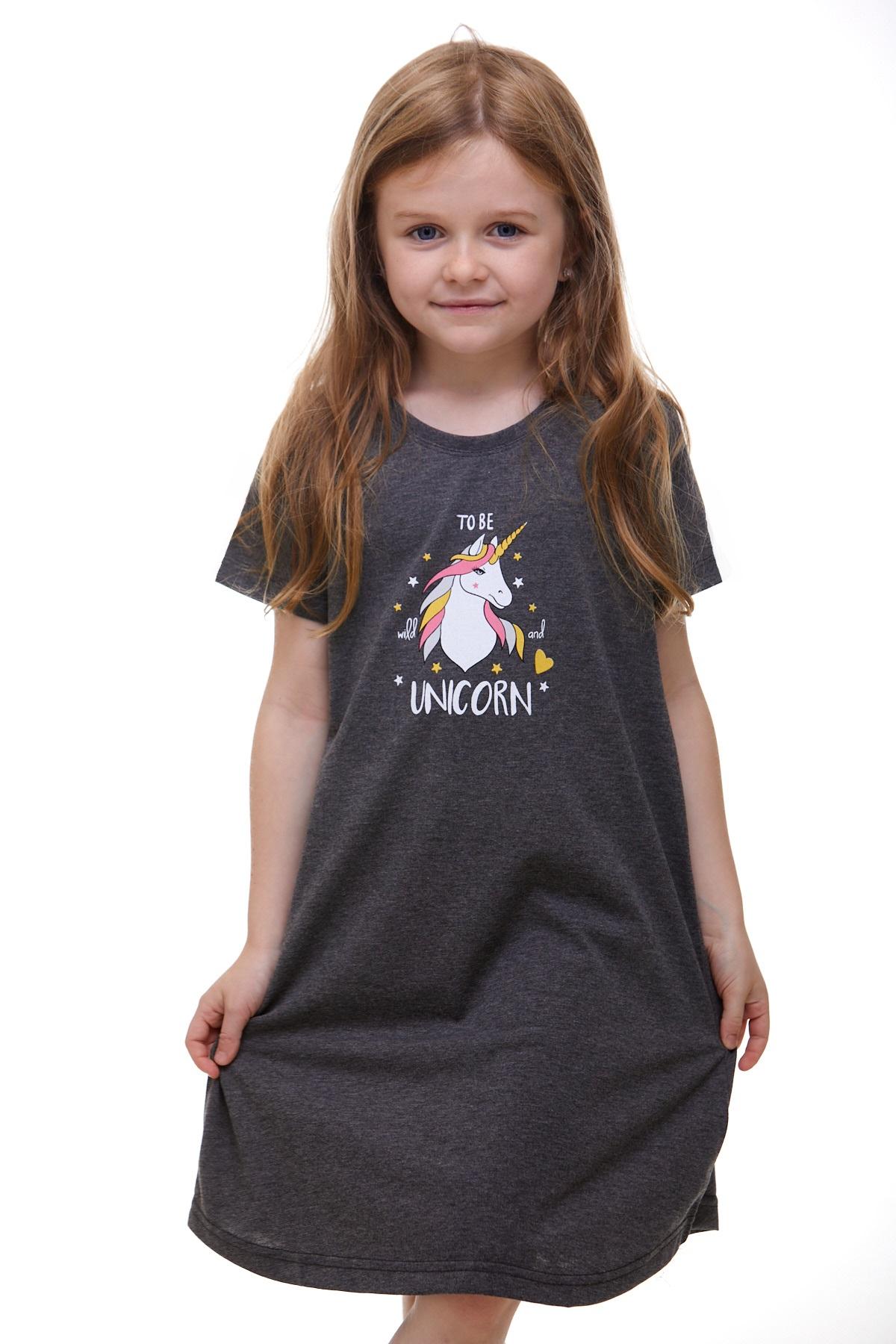 Dívčí noční košilka Jednorožec 1F0489
