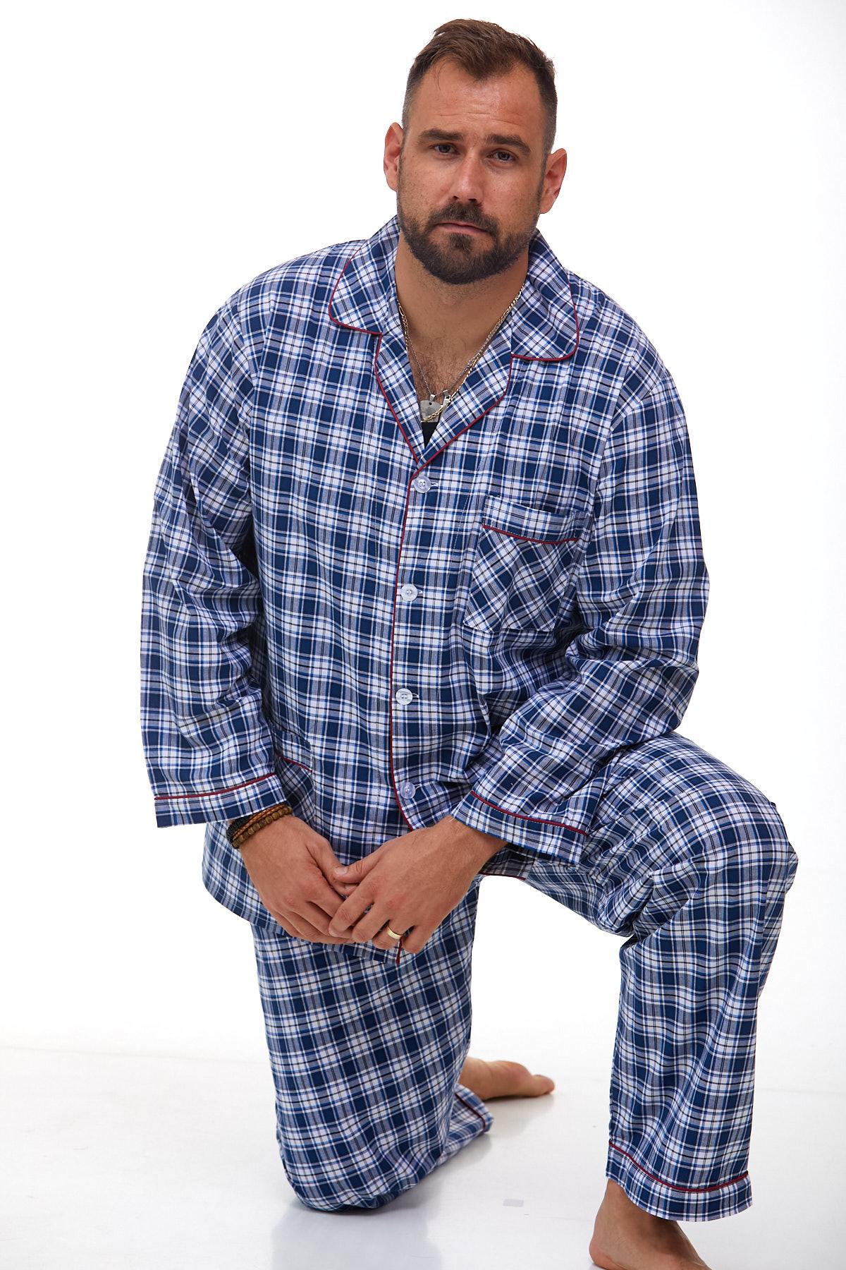 Pánské pyžamo klasické 1P0992