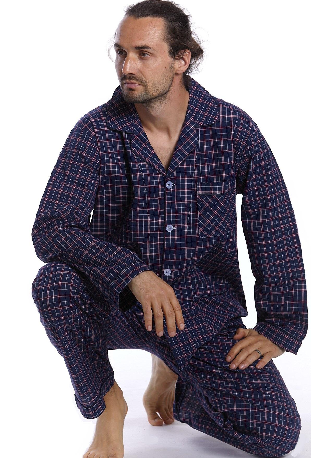 Pánské pyžamo klasické 1P0990