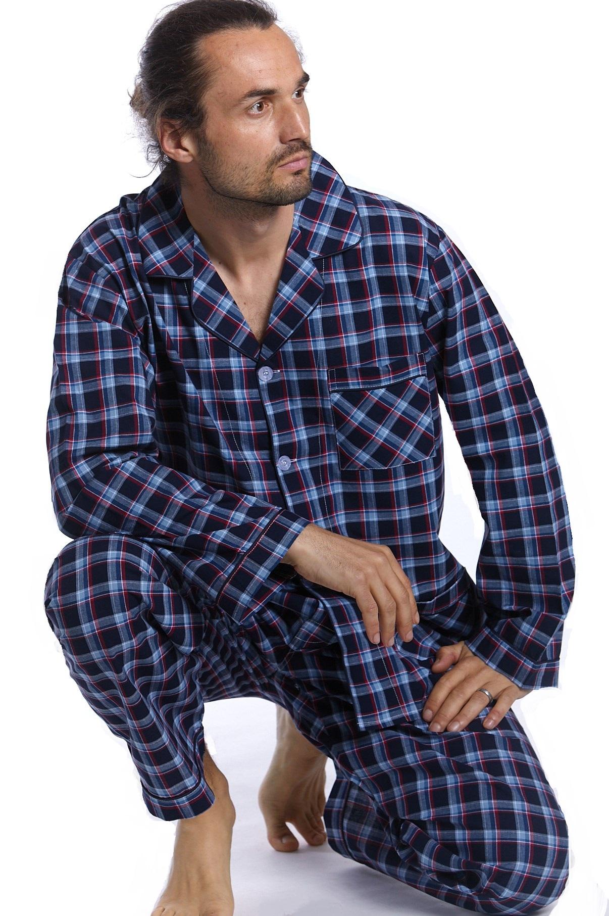 Pánské pyžamo klasické 1P0986