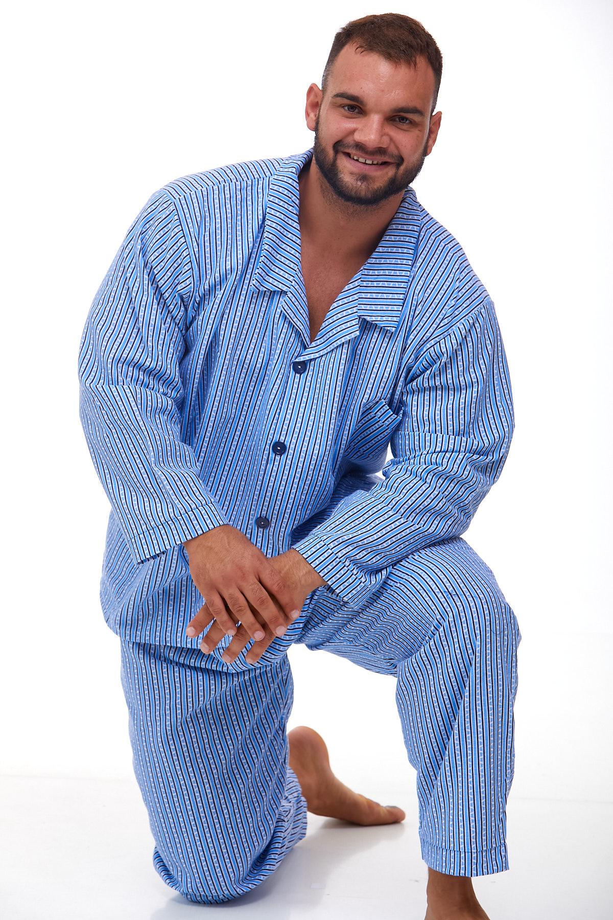 Pánské pyžamo teplé 1P1013