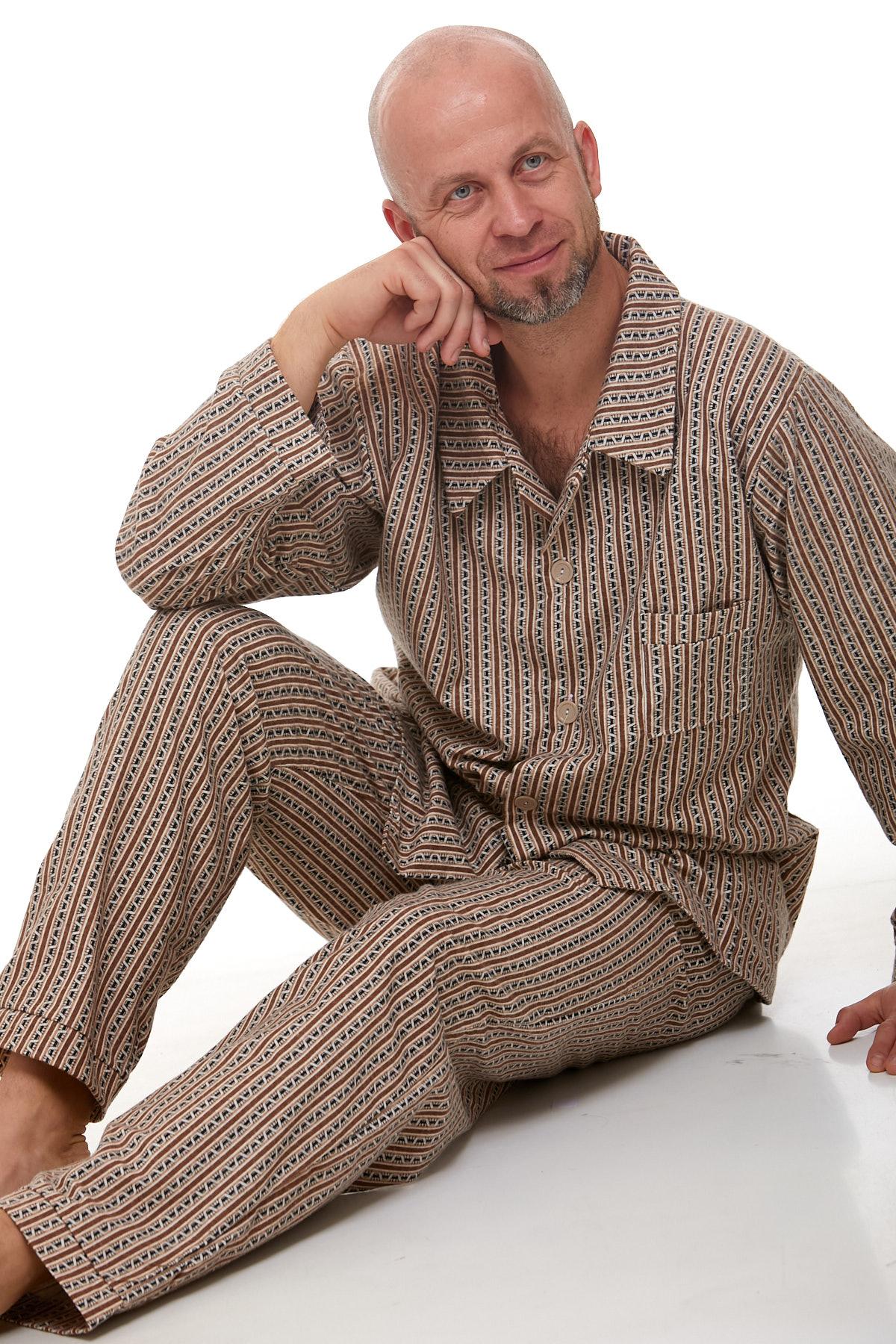 Pánské pyžamo teplé 1P1008