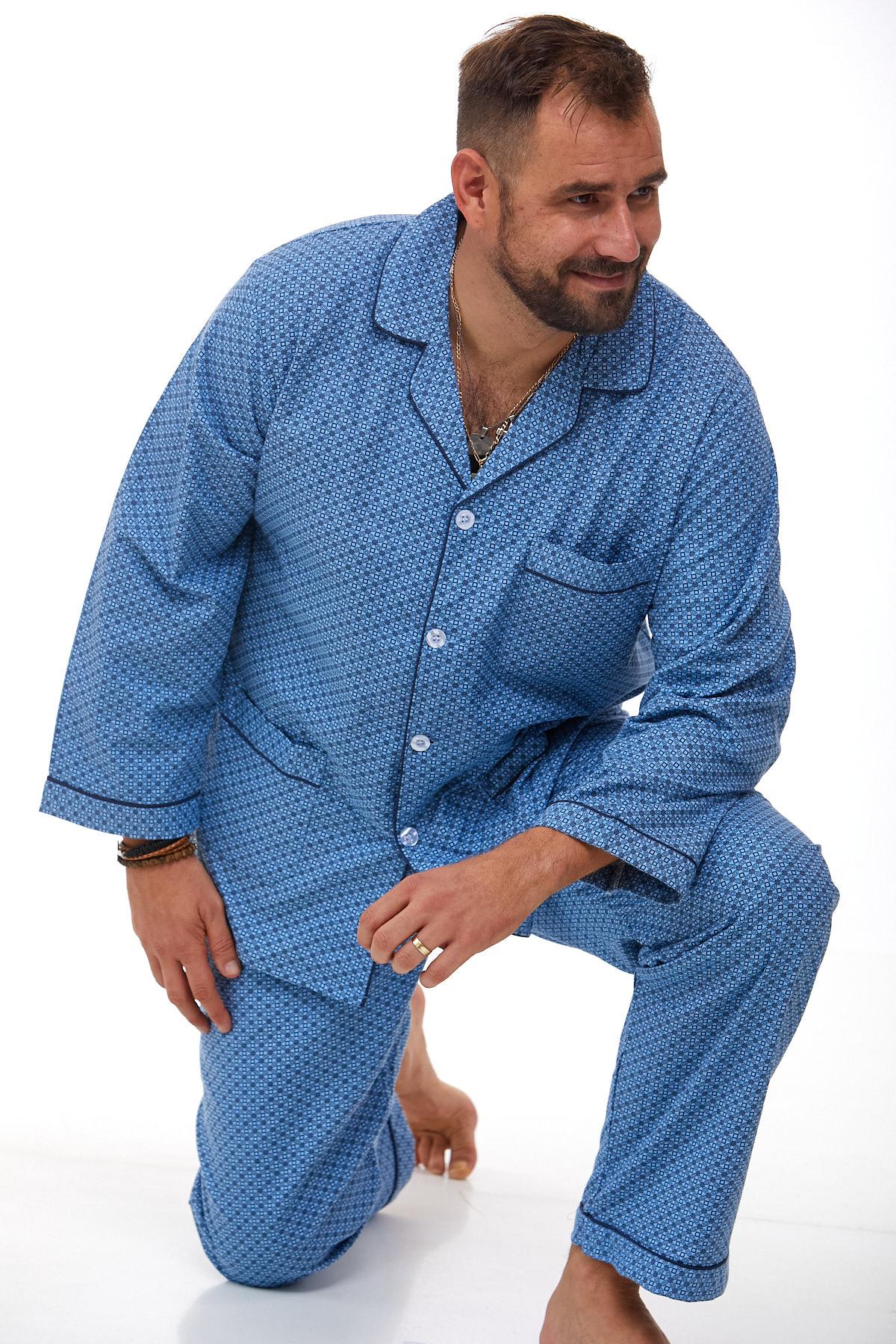 Pánské pyžamo teplé 1P0997