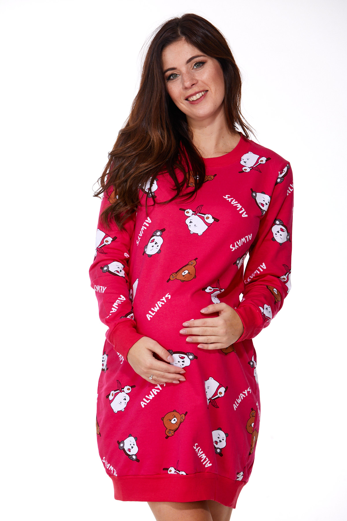 Košilka pro těhotné zateplená 1C2244