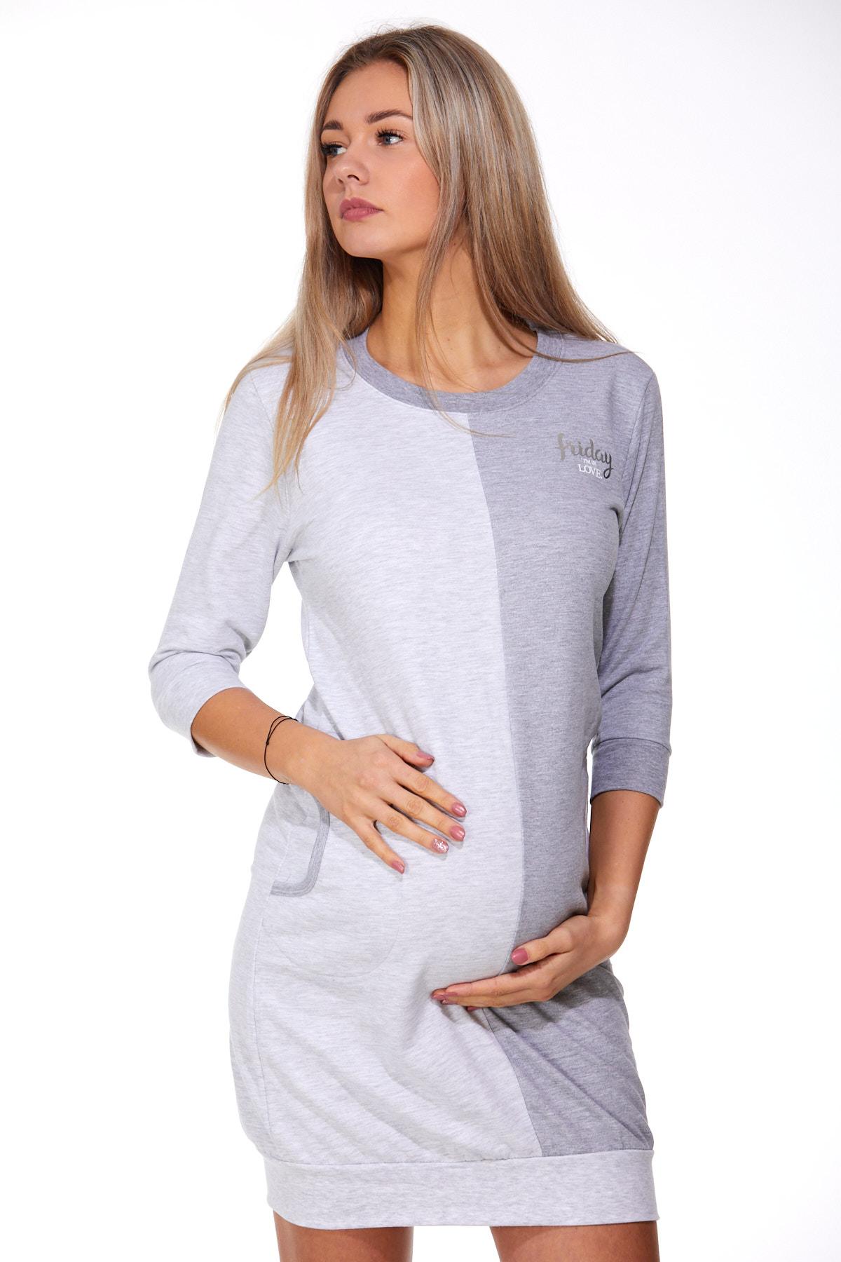 Košilka pro těhotné zateplená 1C2240