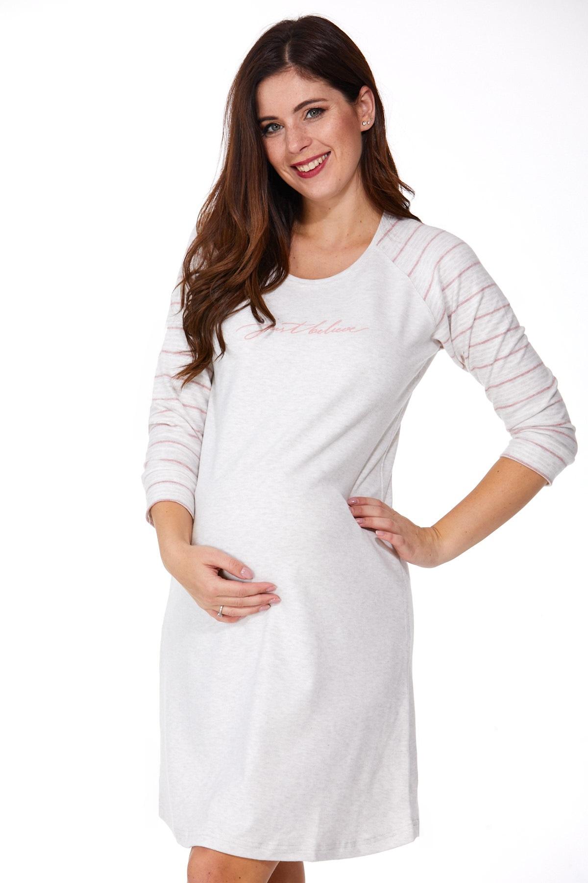 Košilka pro těhotné zateplená 1C2316
