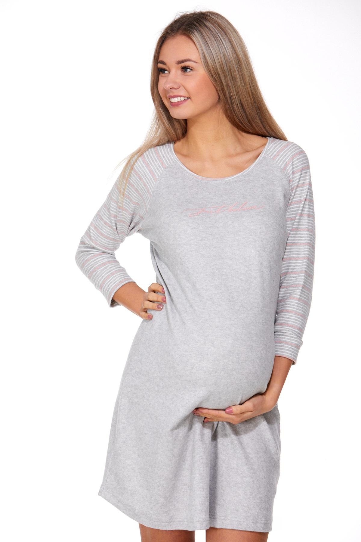 Košilka pro těhotné zateplená 1C2315