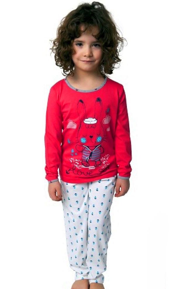 Pyžamo pro holky zajíček 1F0545