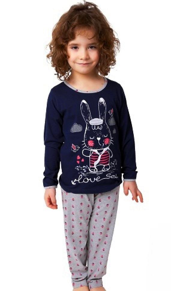 Pyžamo pro holky zajíček 1F0544