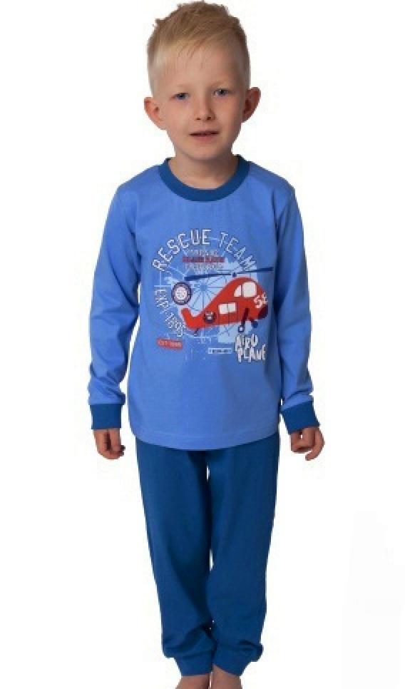 Chlapecké pyžamo Vrtulník 1F0561