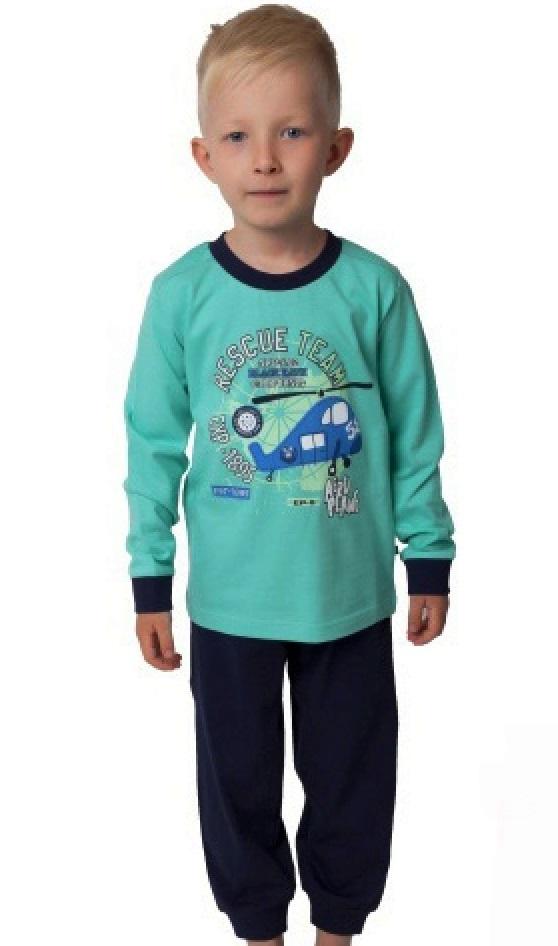 Chlapecké pyžamo Vrtulník 1F0560