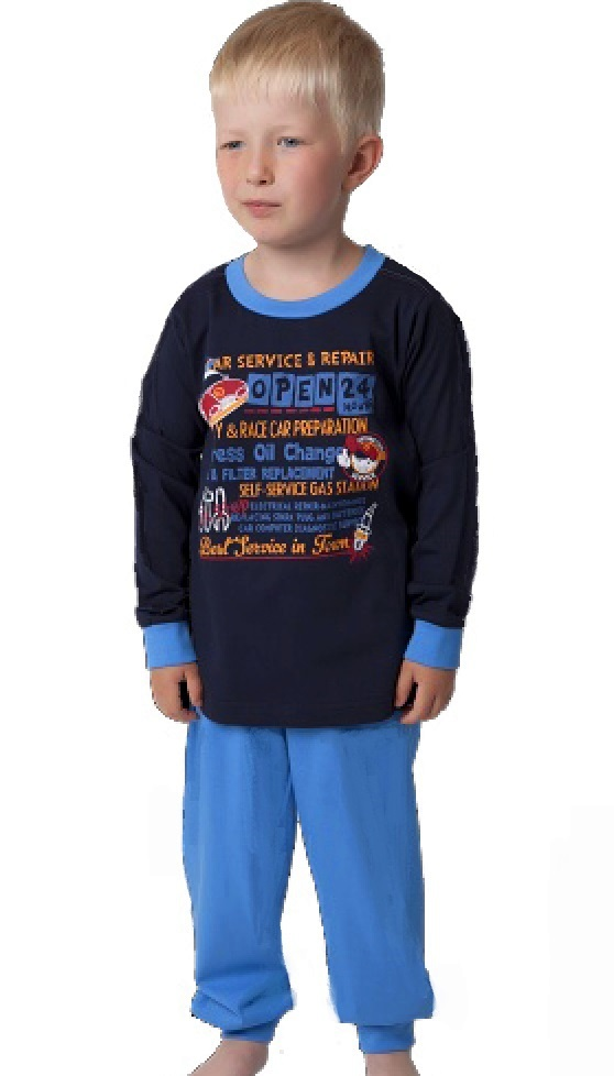 Chlapecké pyžamo automechanik 1F0551
