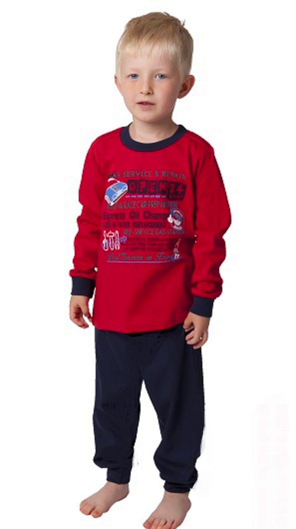 Chlapecké pyžamo automechanik 1F0550