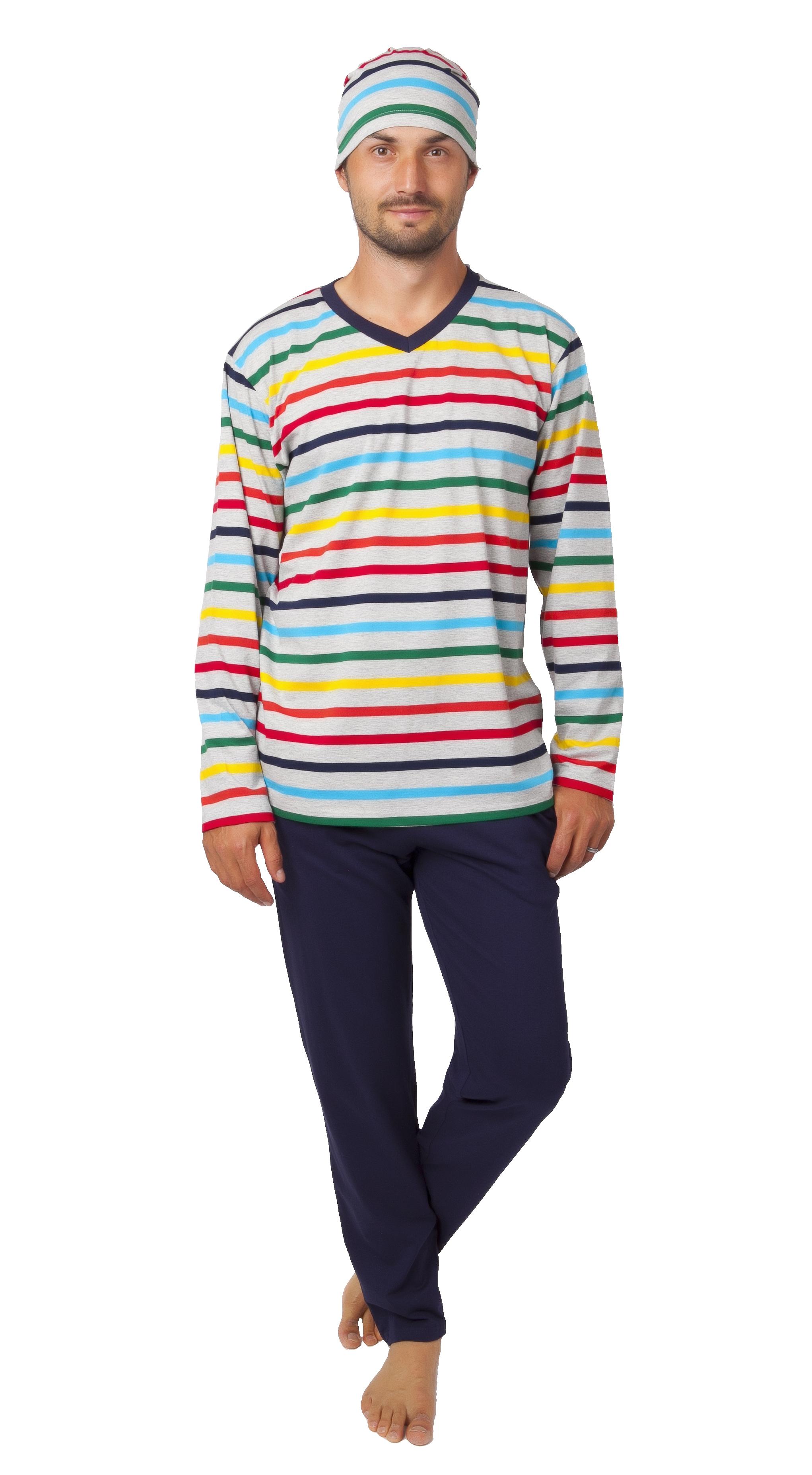Pyžamo pro muže s čepičkou 1P1030