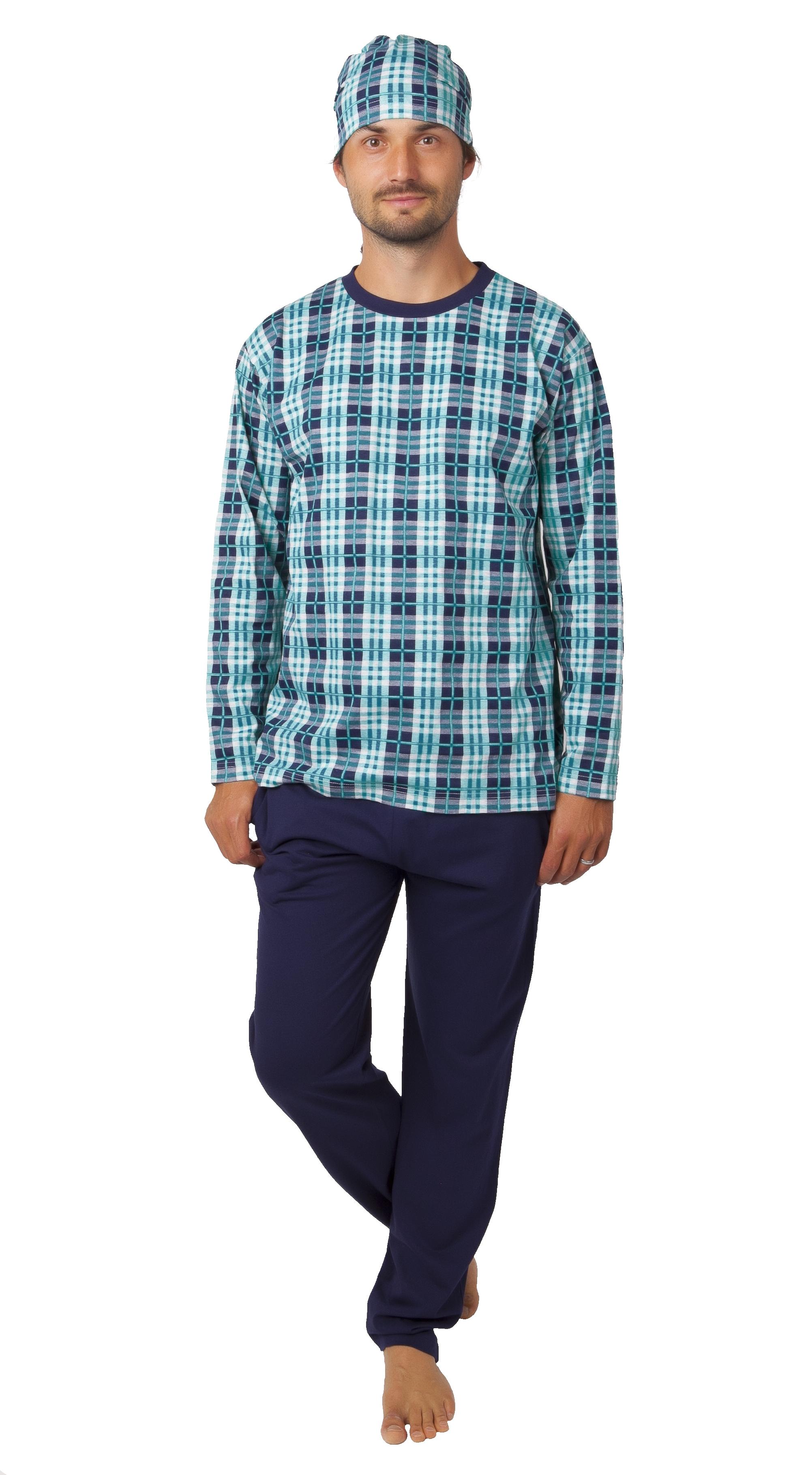 Pyžamo pro muže s čepičkou 1P1019