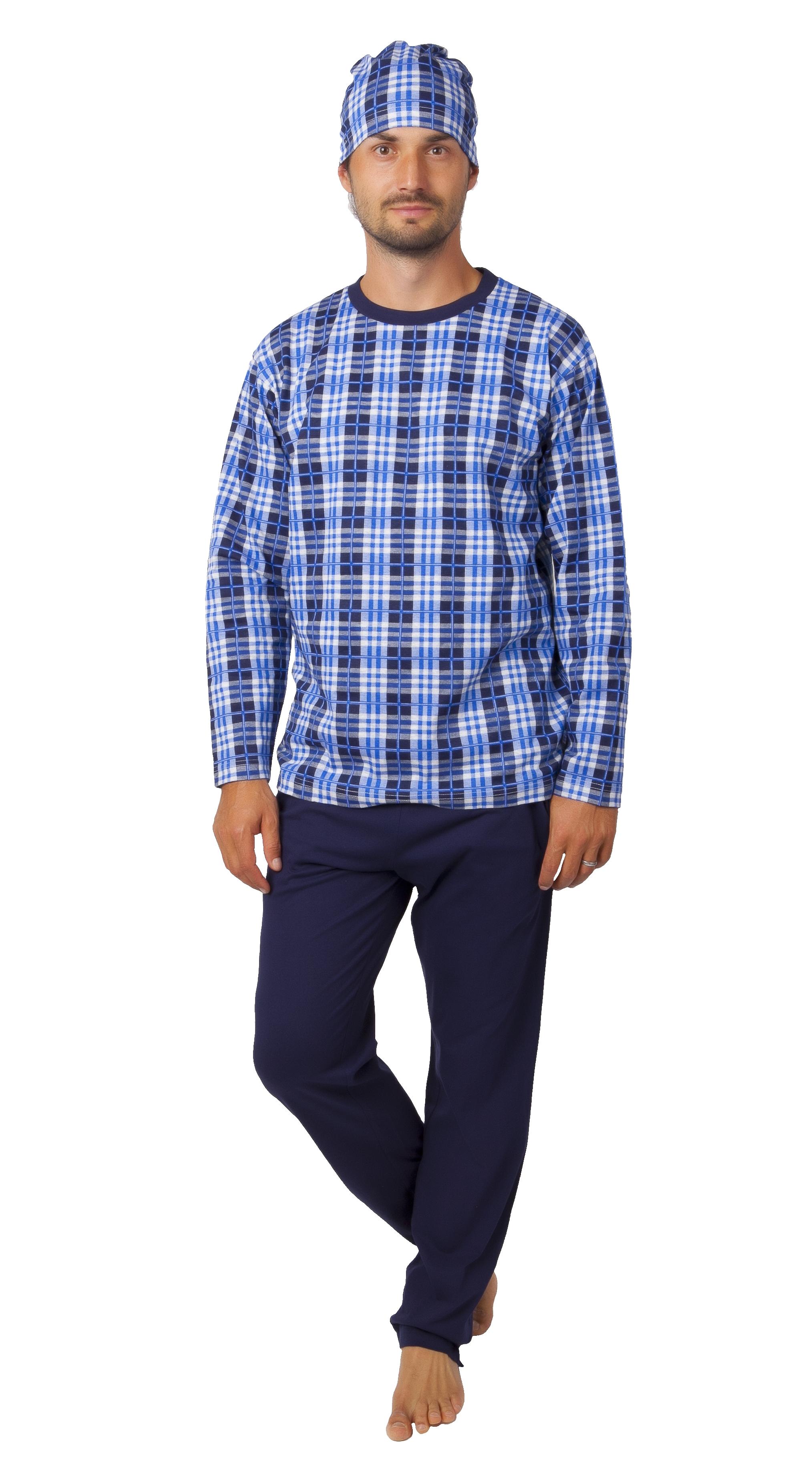 Pyžamo pro muže s čepičkou 1P1018