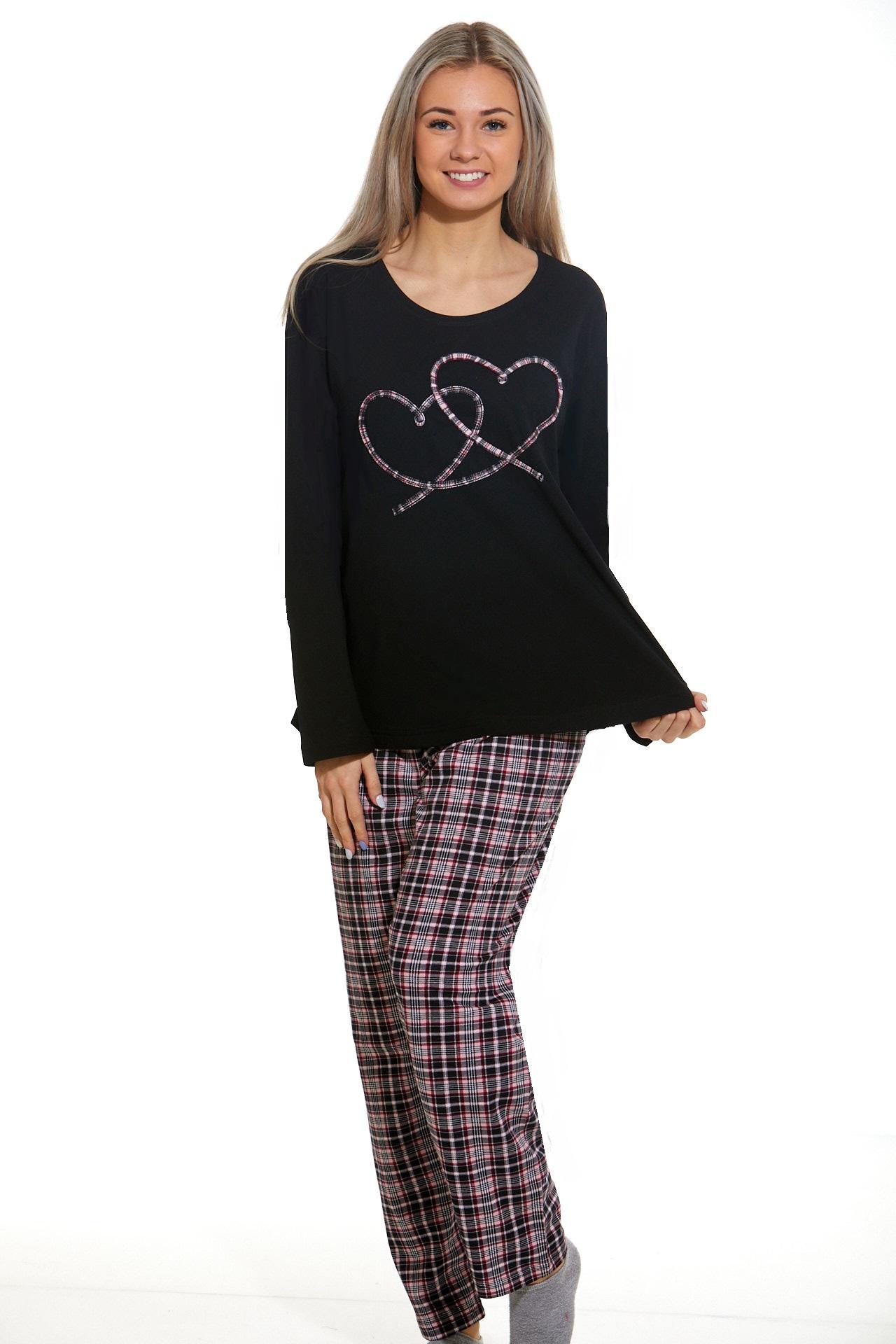 Dámské pyžamo comfort beautiful 1B1045
