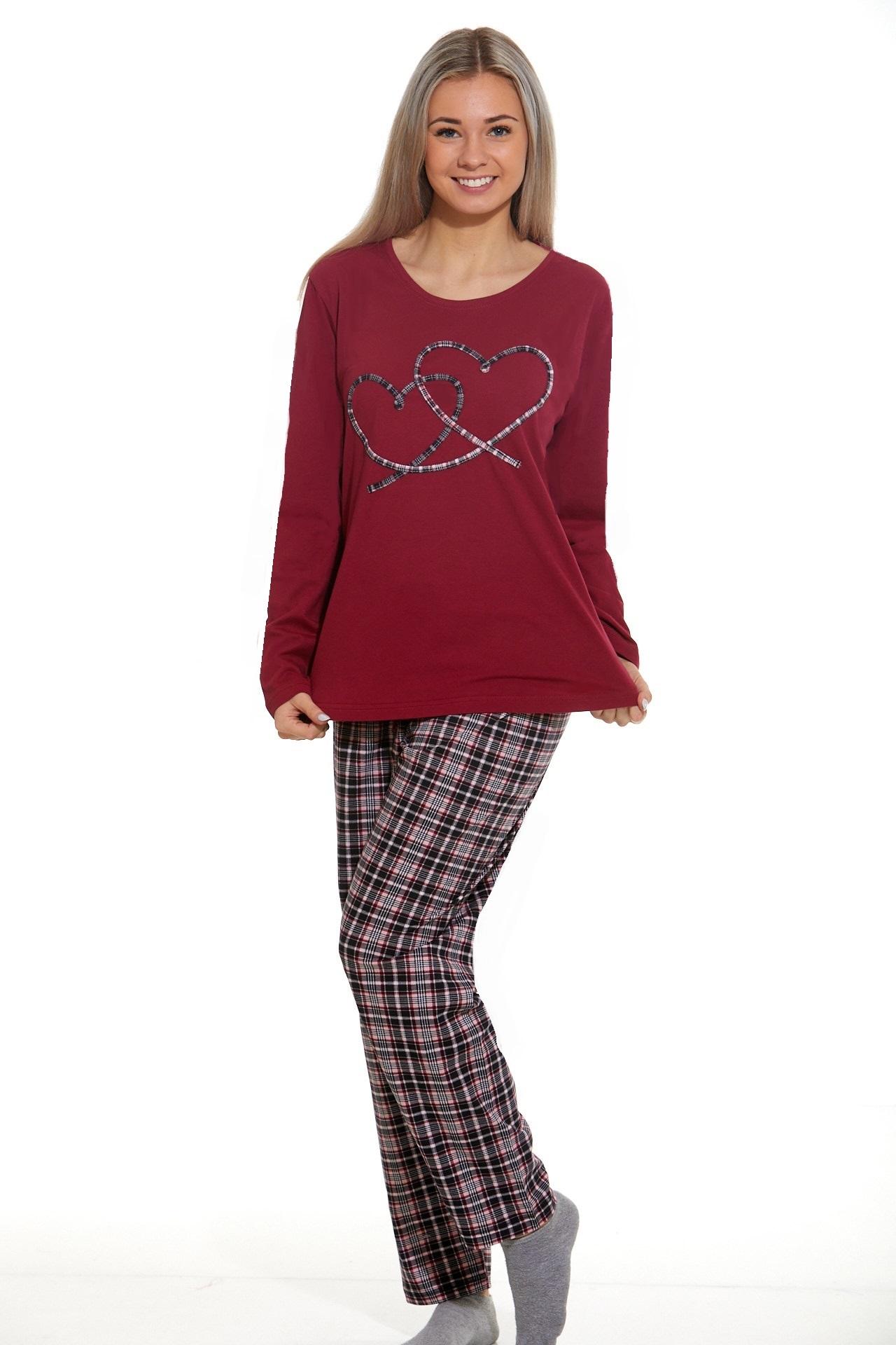 Dámské pyžamo comfort beautiful 1B1044