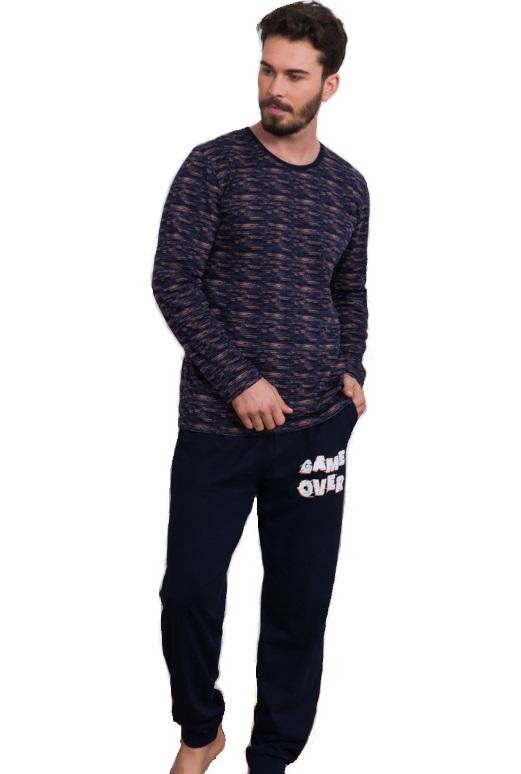 Pyžamo pro muže Game over 1P1052